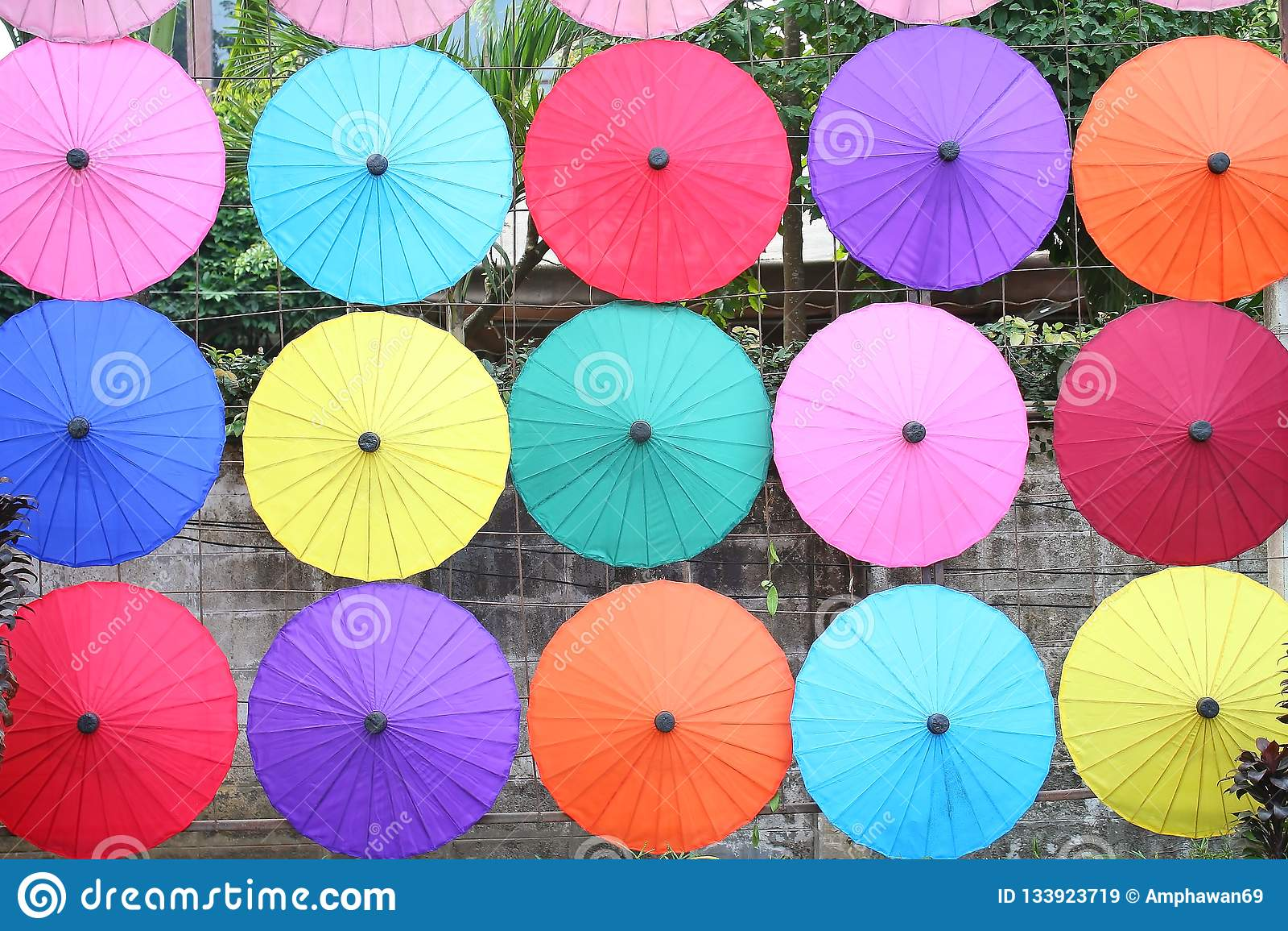 19,2018 januari, BO Sang Umbrella Festival Gehouden in Januari van elk jaar BO Sang Umbrella Handicraft Centre San Kamphaeng dist