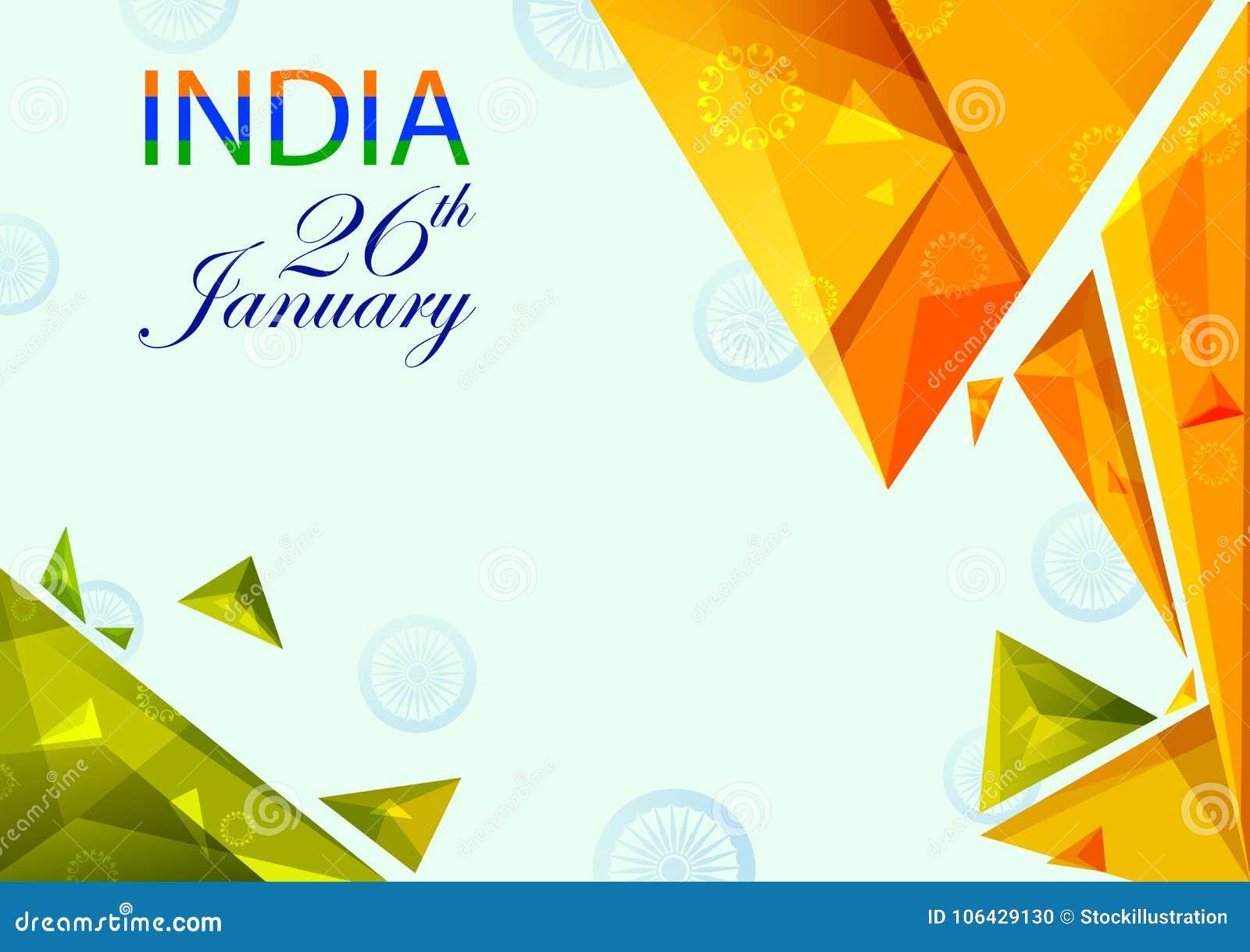 26 Januari, de Gelukkige Dag van de Republiek van India