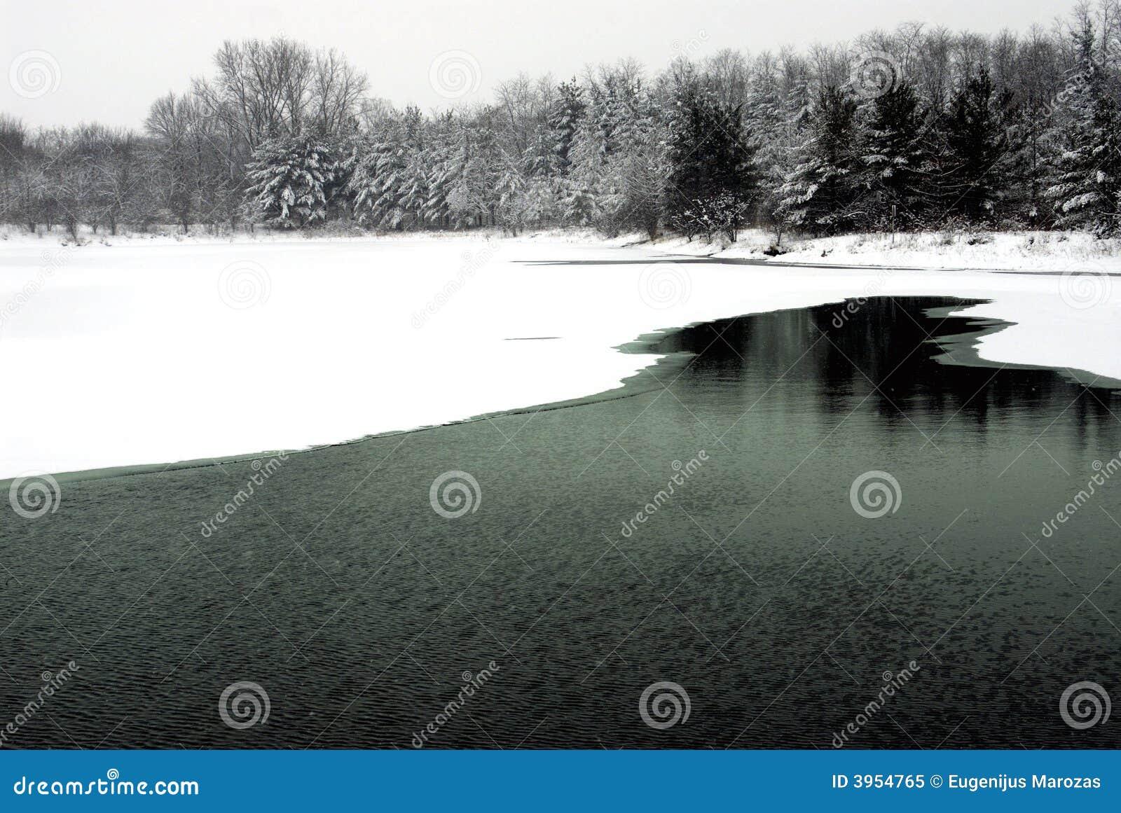 Januari lake