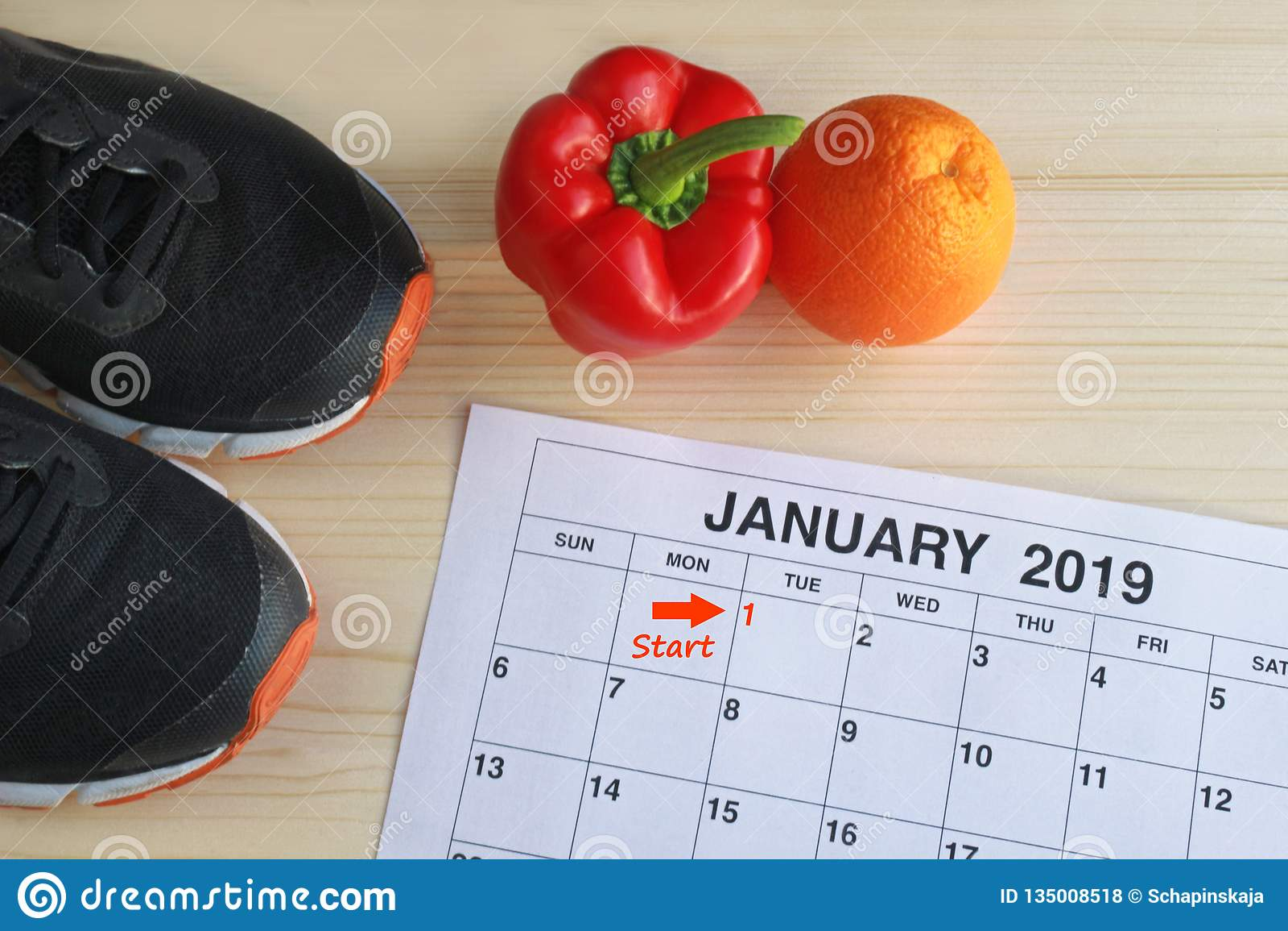 Januari 2019 start i ett nytt sunt liv