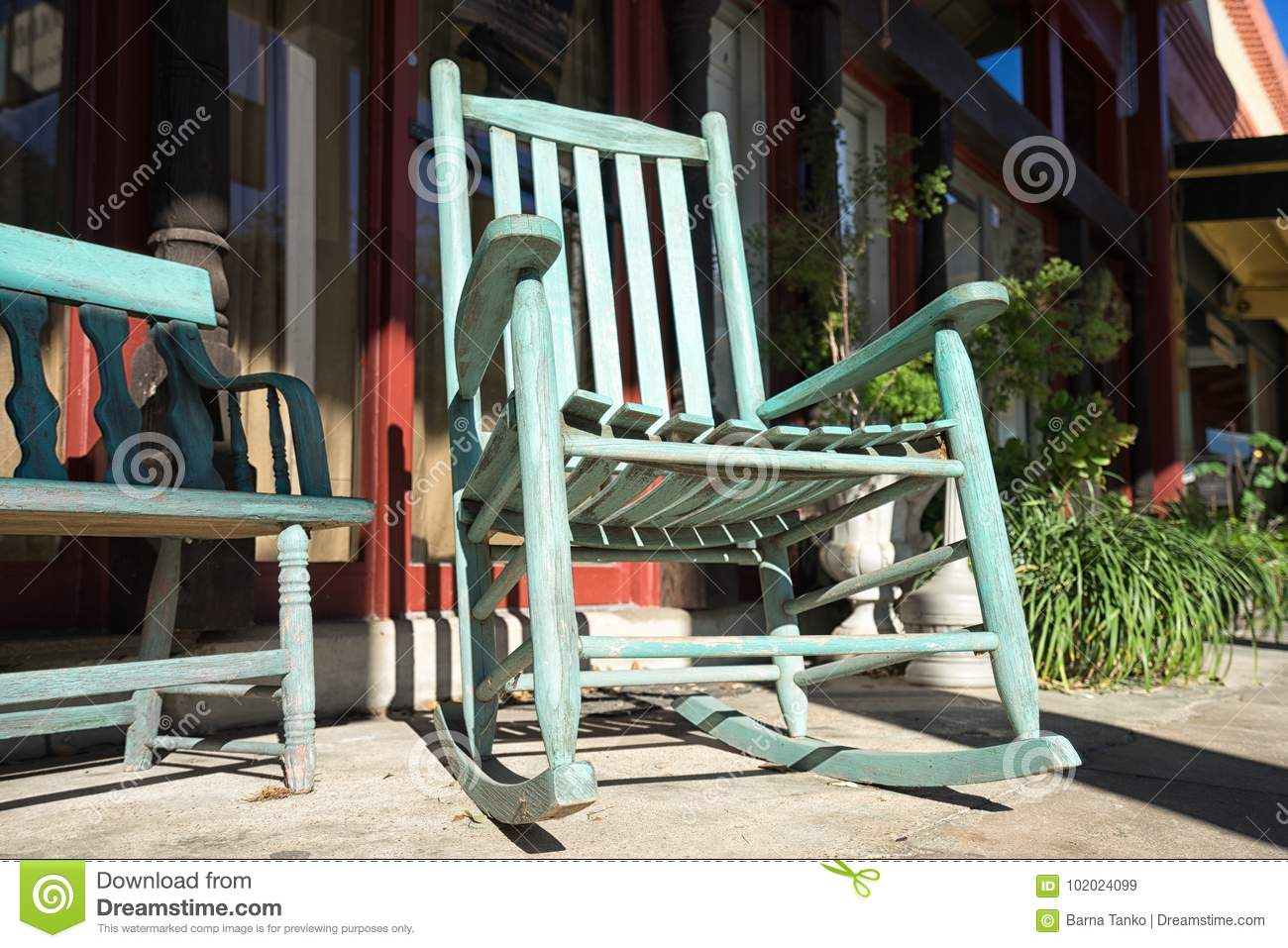 Surprising Rocking Chair Closeup Editorial Stock Image Image Of Unemploymentrelief Wooden Chair Designs For Living Room Unemploymentrelieforg