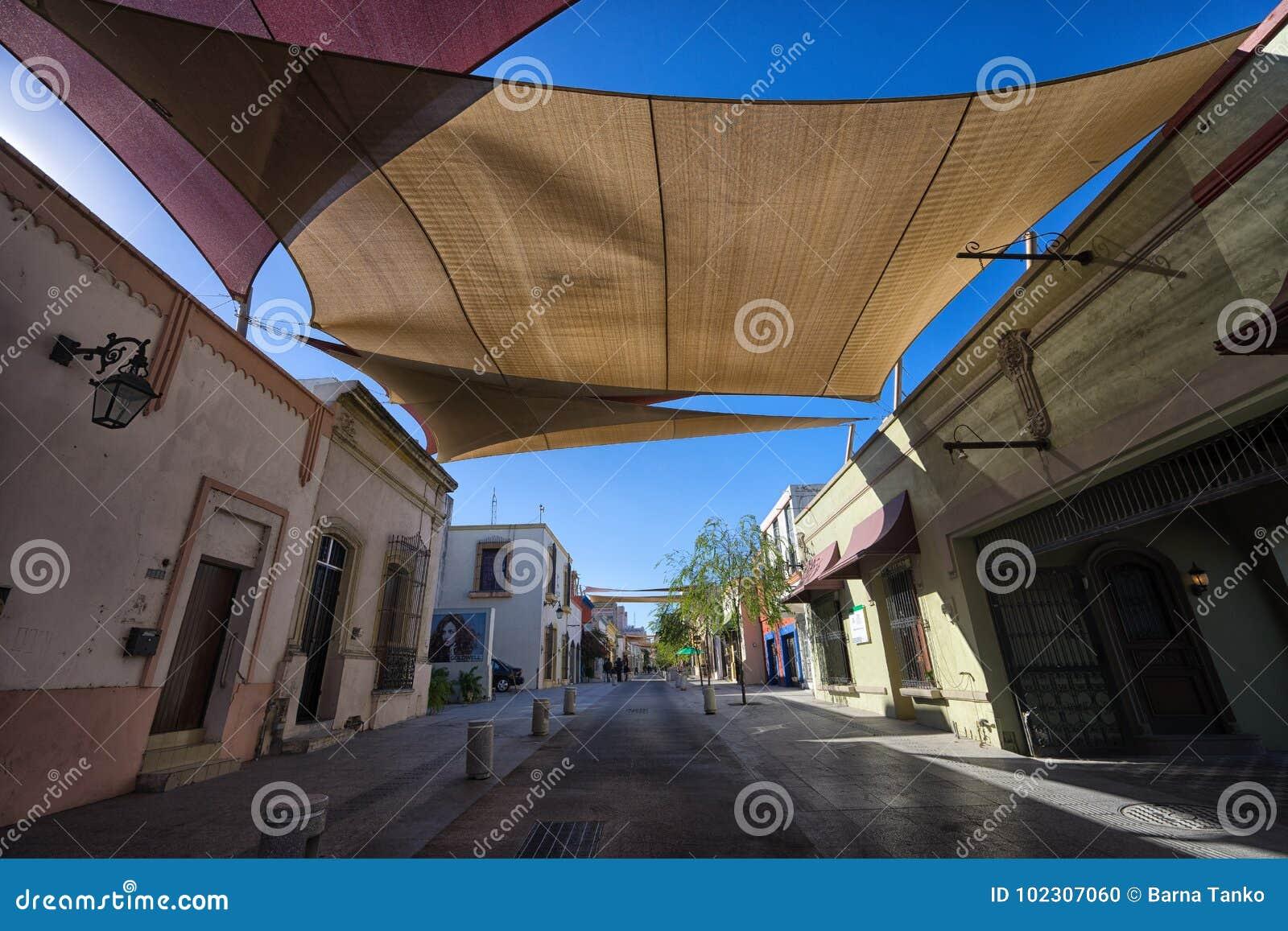 Barrio antiguo in Monterrey Mexico