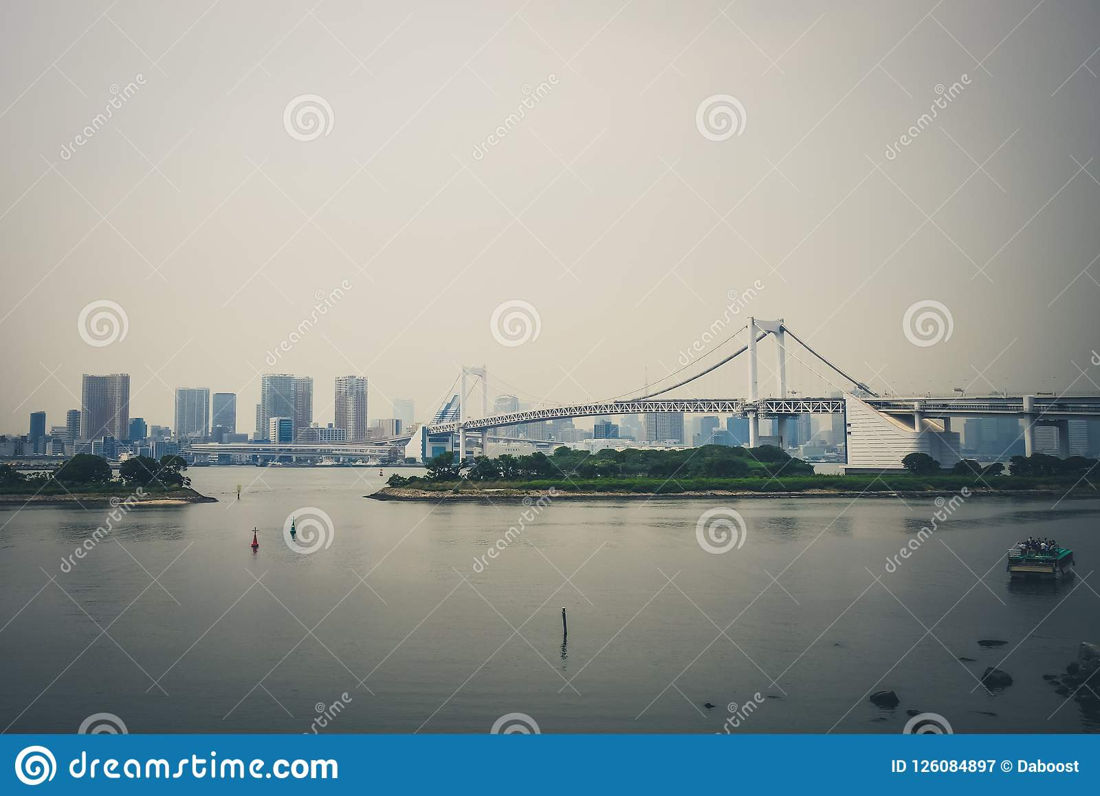 Japan bridżowa tęcza Tokyo