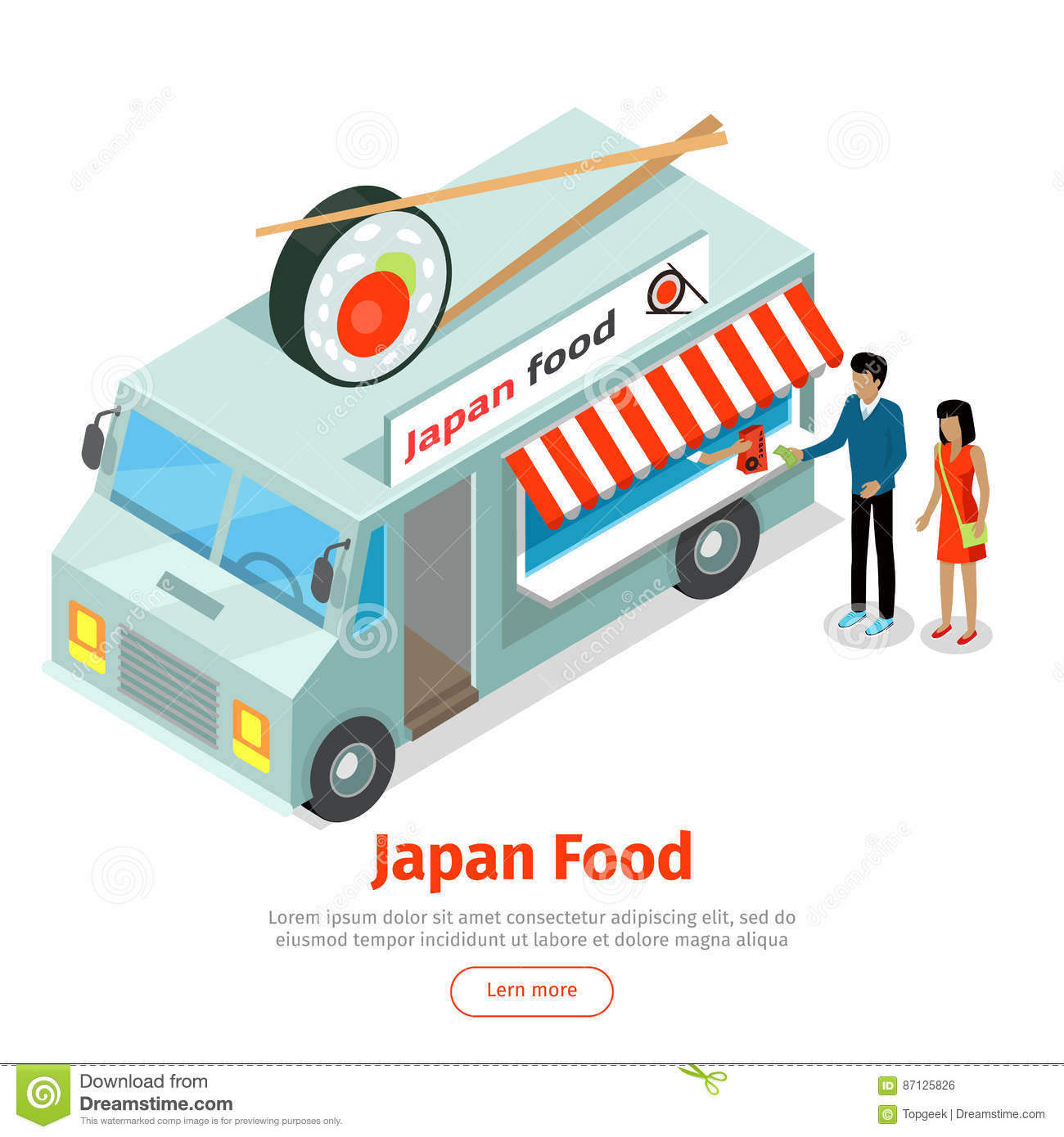 White On Rice Food Truck