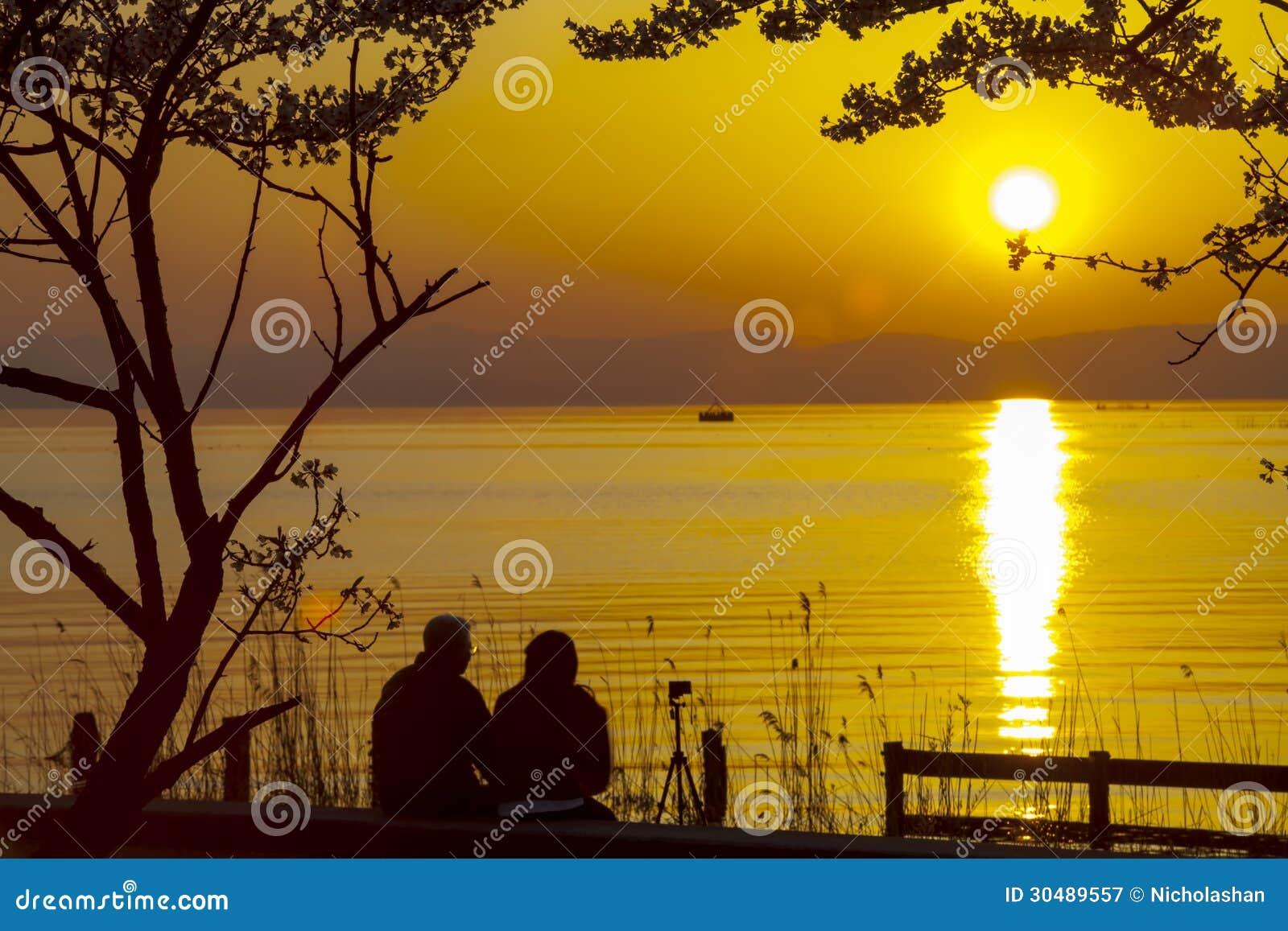 Japan Feng Park Sunset