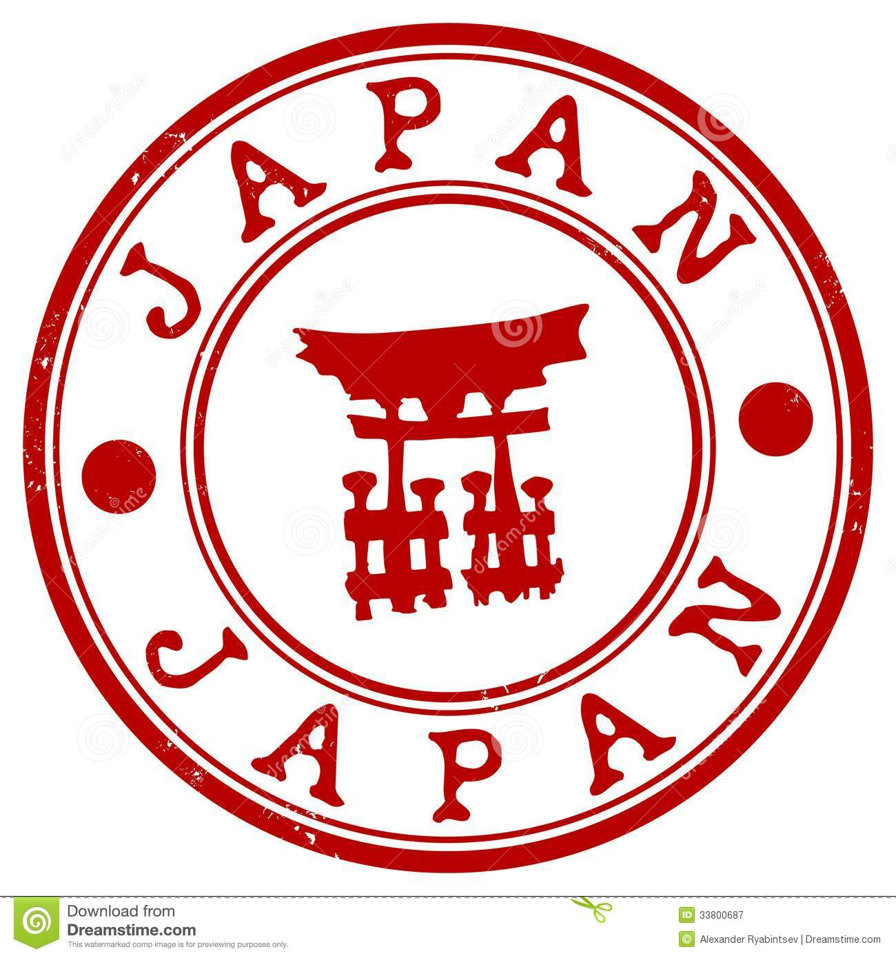 Japan Grunge Rubber Stamp Royalty Free Stock Photography - Image ...