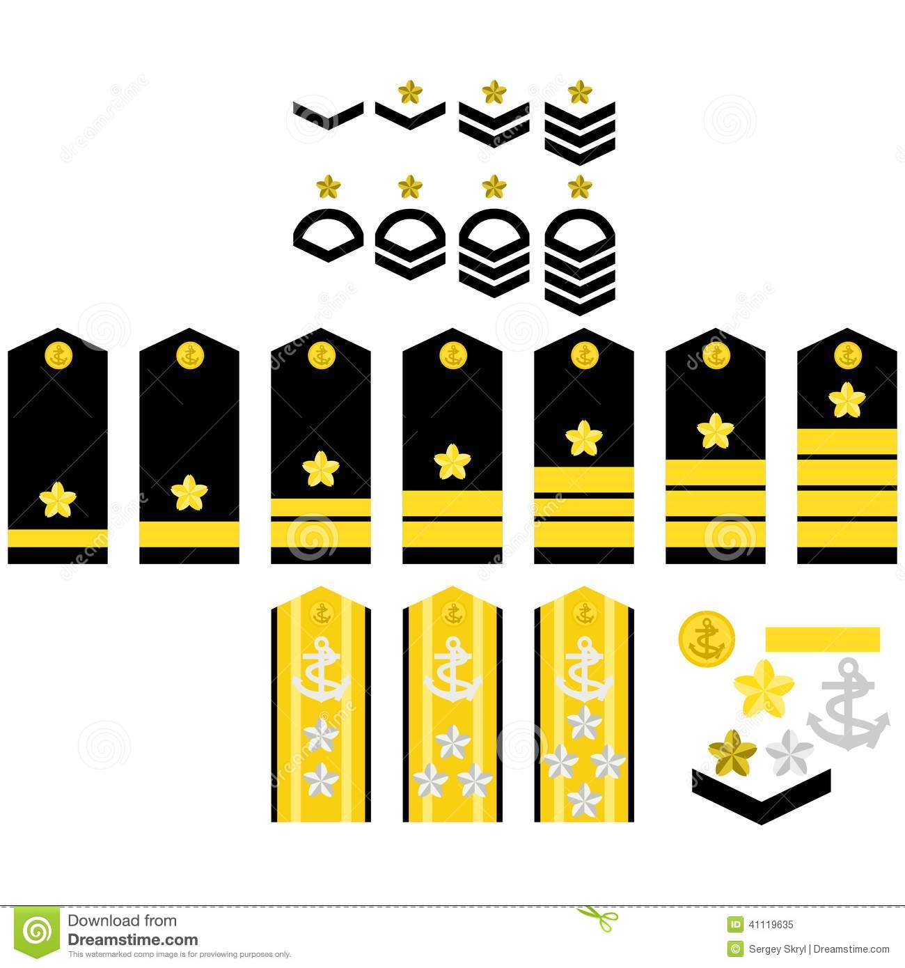 Insignia Of The Iranian Army Stock Photo - Image: 31123700