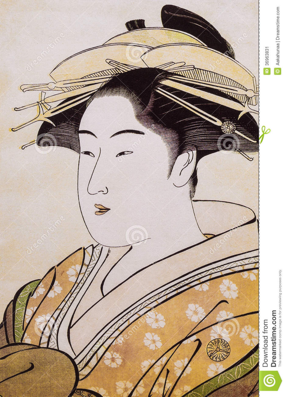 Japan S Traditional Costume Stock Image Image Of History