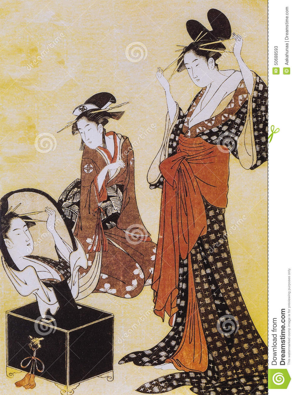 Ancient Japanese Sex Drawings 17
