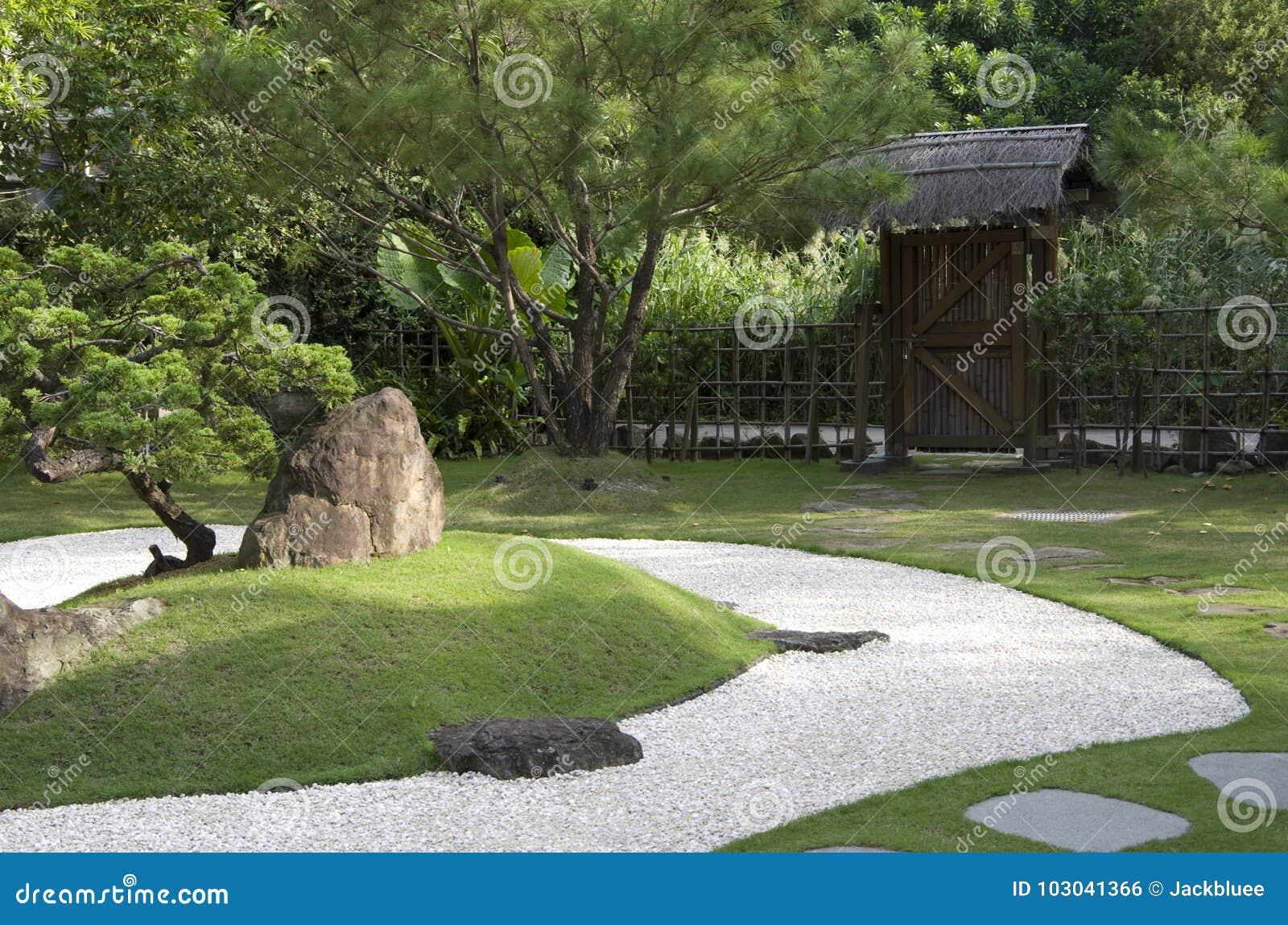 Sand For Backyard japanese zen garden with sand backyard stock photo - image of