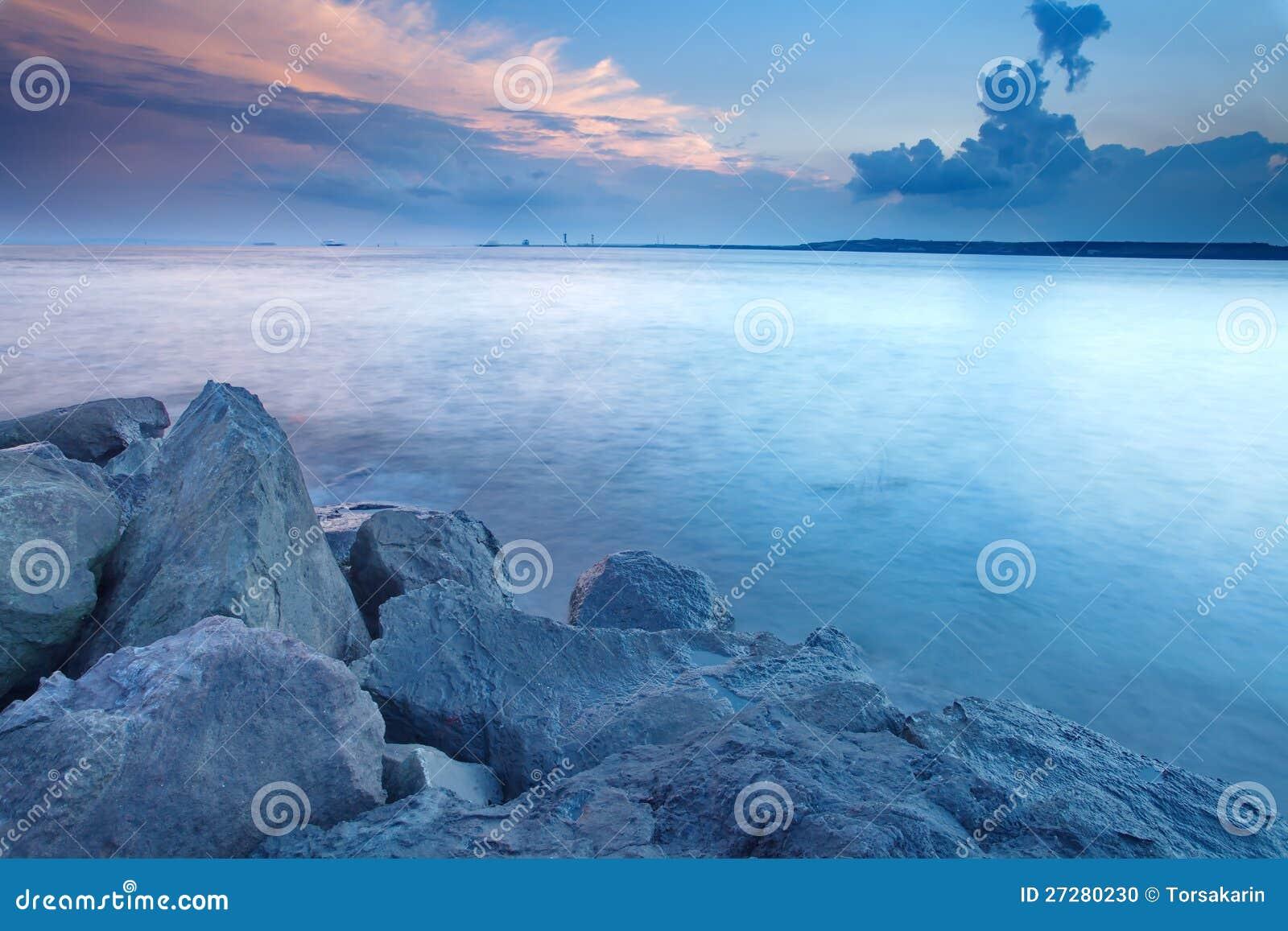 Japan seascape