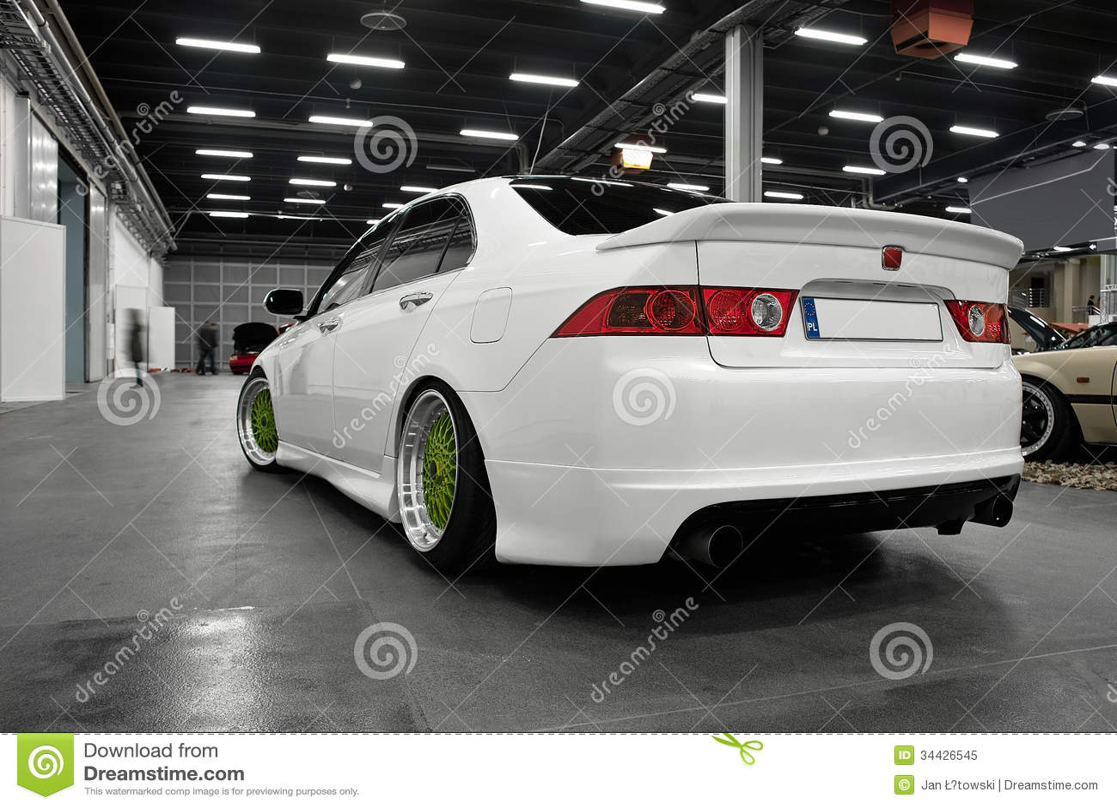 Japan sport car honda accord stock image image 34426545 for Sporty honda cars