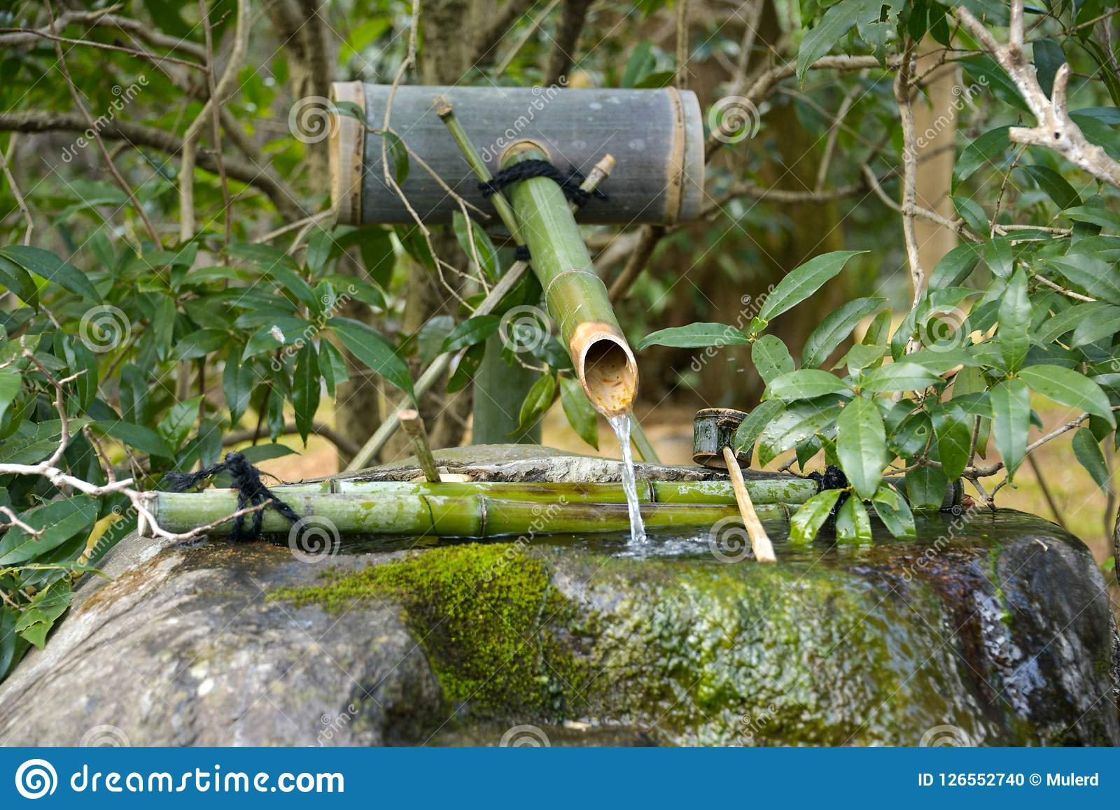 Japan Travel Japanese Bamboo Water Fountain Noise Maker April 2018