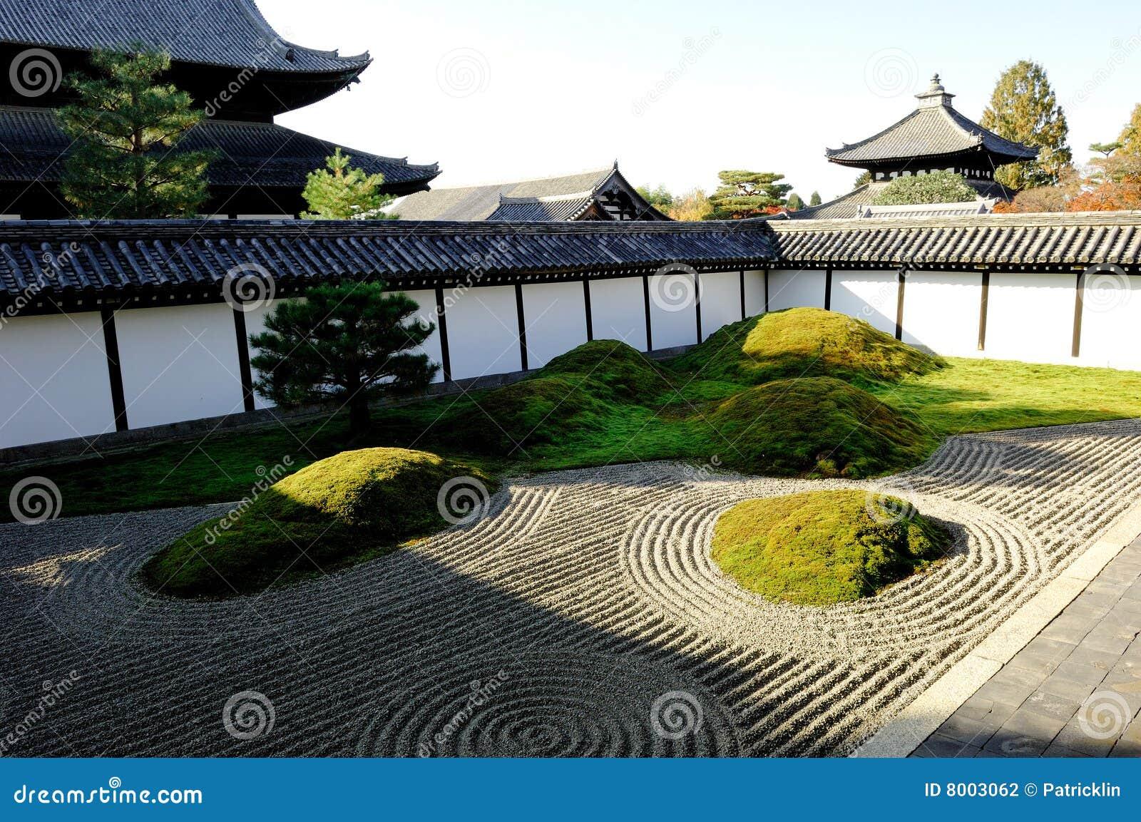 japan zen garten stockfoto bild von tokyo traditionell 8003062. Black Bedroom Furniture Sets. Home Design Ideas