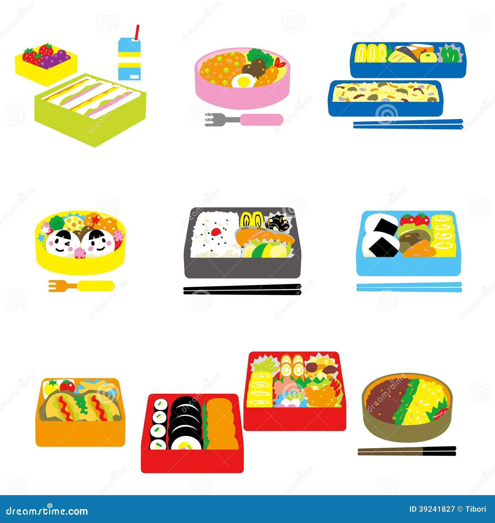 japanese bento box lunch bento box stock vector image 39241827. Black Bedroom Furniture Sets. Home Design Ideas