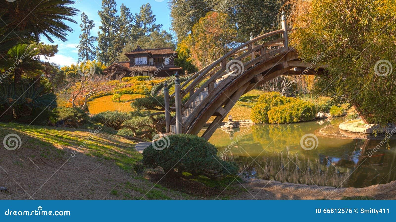 Japanese Botanical Garden At The Huntington Botanical Garden Stock ...
