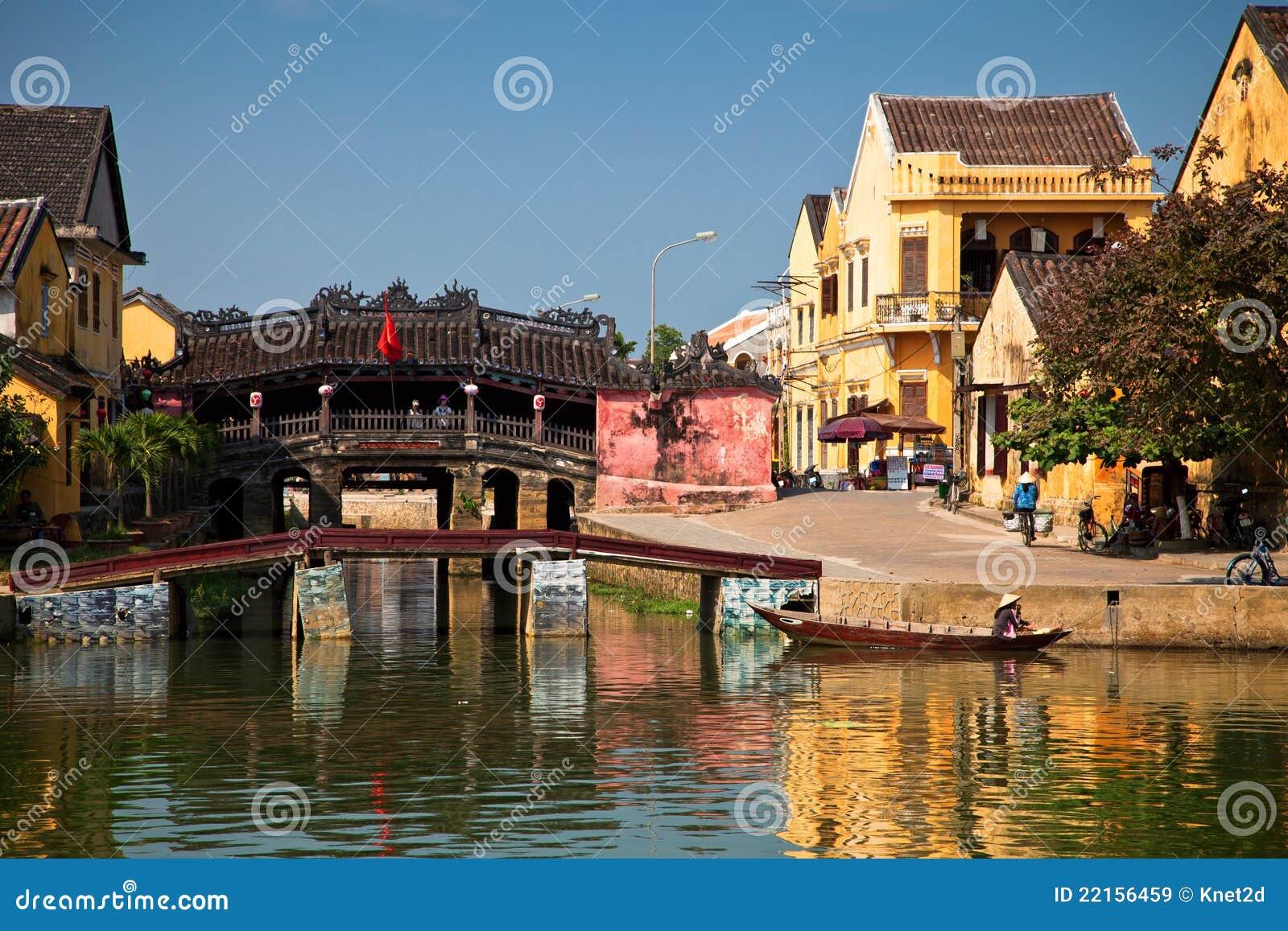 Japanese bridge at Hoi An