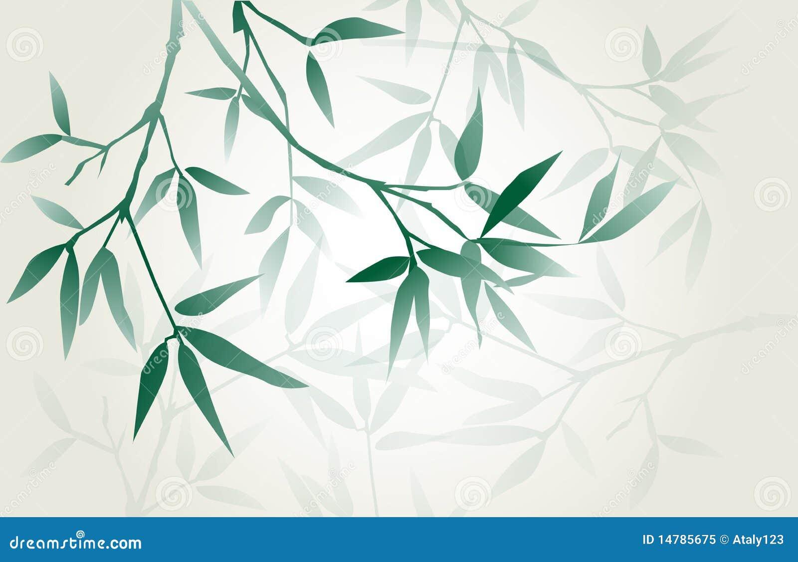 Japanese Calligraphy Bamboo Royalty Free Stock Photo