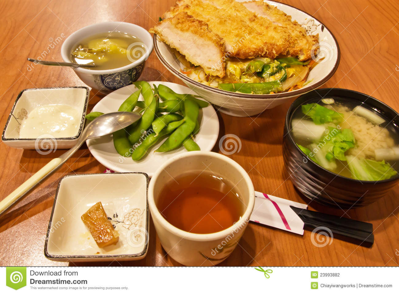 Japanese cuisine stock photography image 23993882 for Asian cuisine appetizers