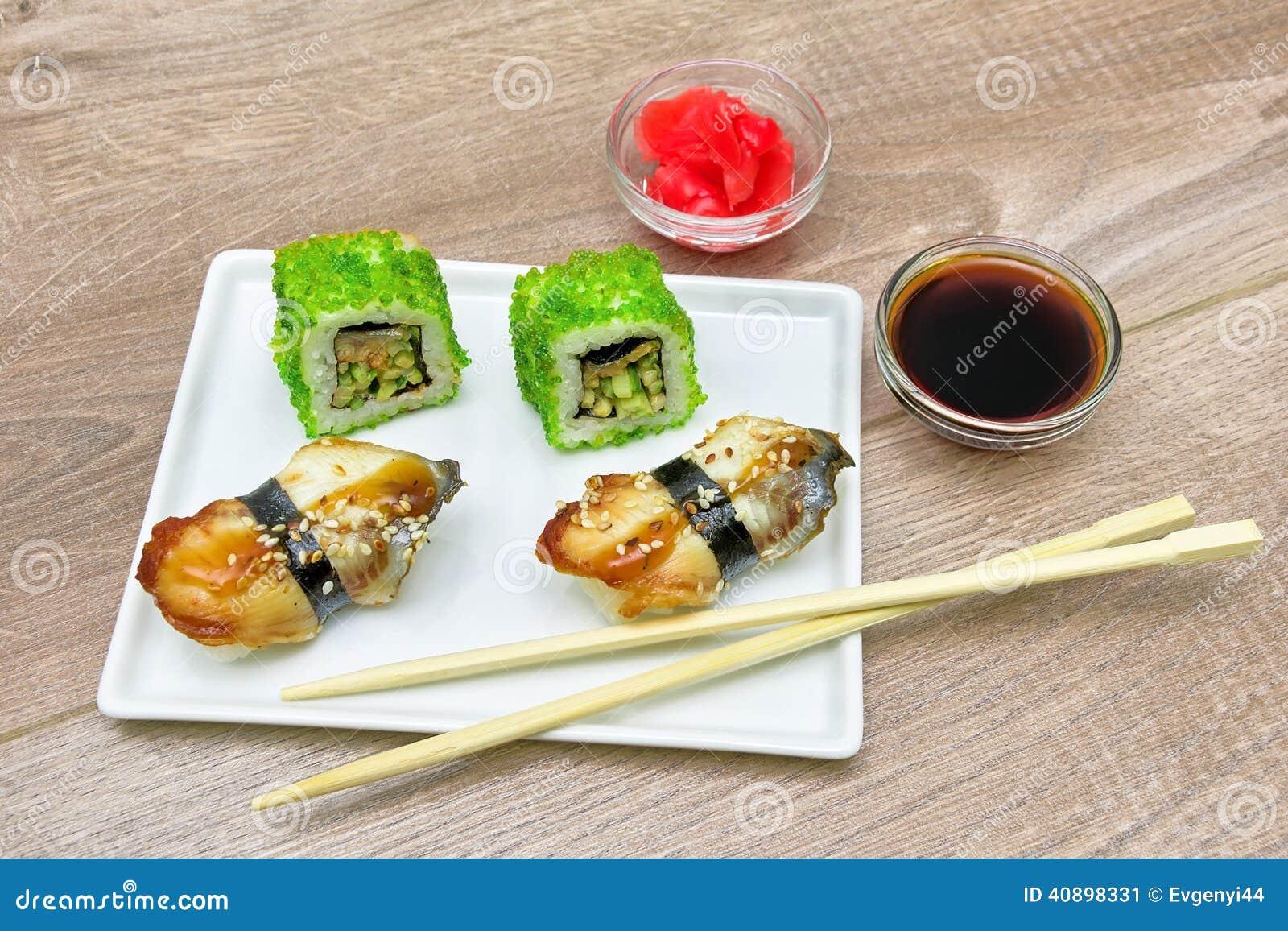 how to eat smoked eel