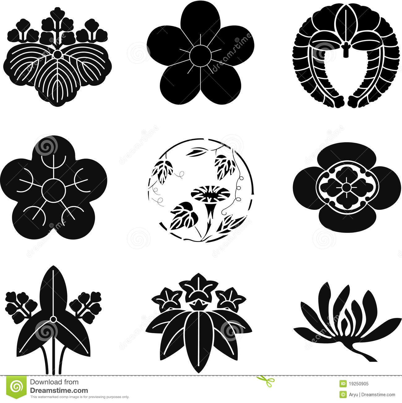japanese family crests vector illustration cartoondealer hawk clipart feathers hawk clipart abstract