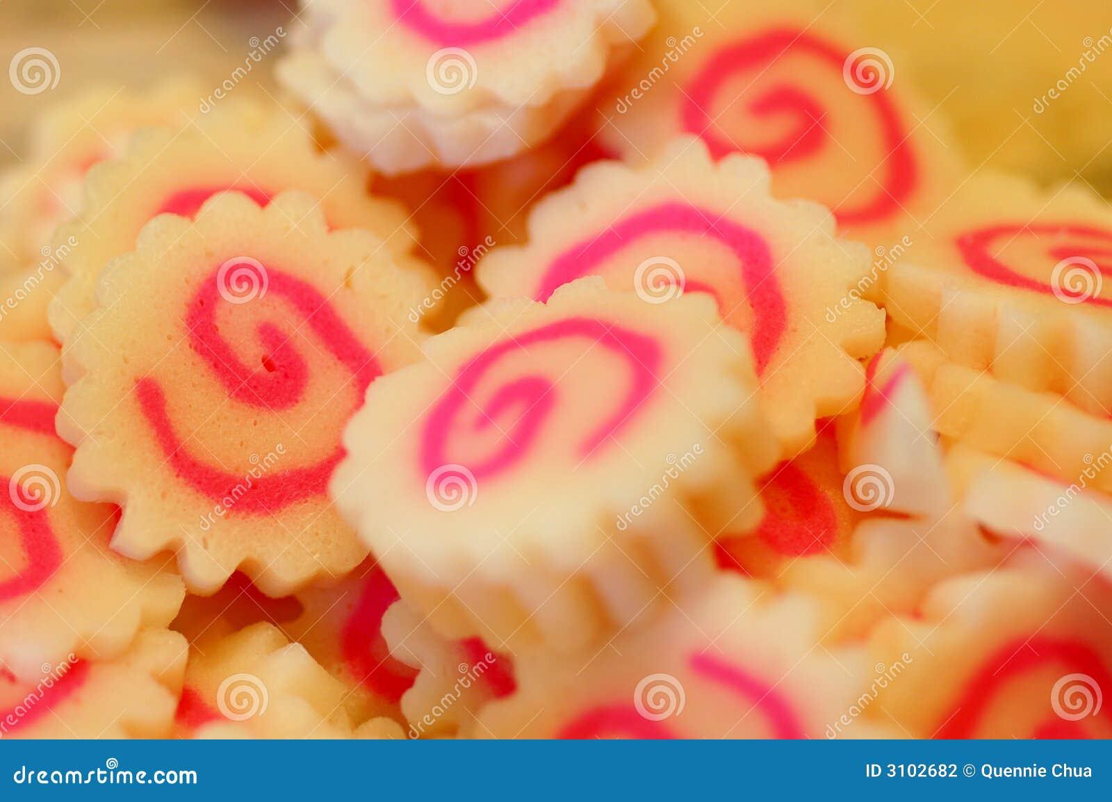 Japanese Fish Cake Pink Swirl
