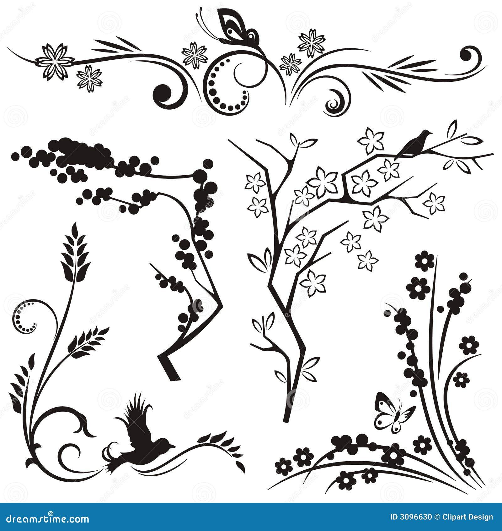 Japanese floral design series