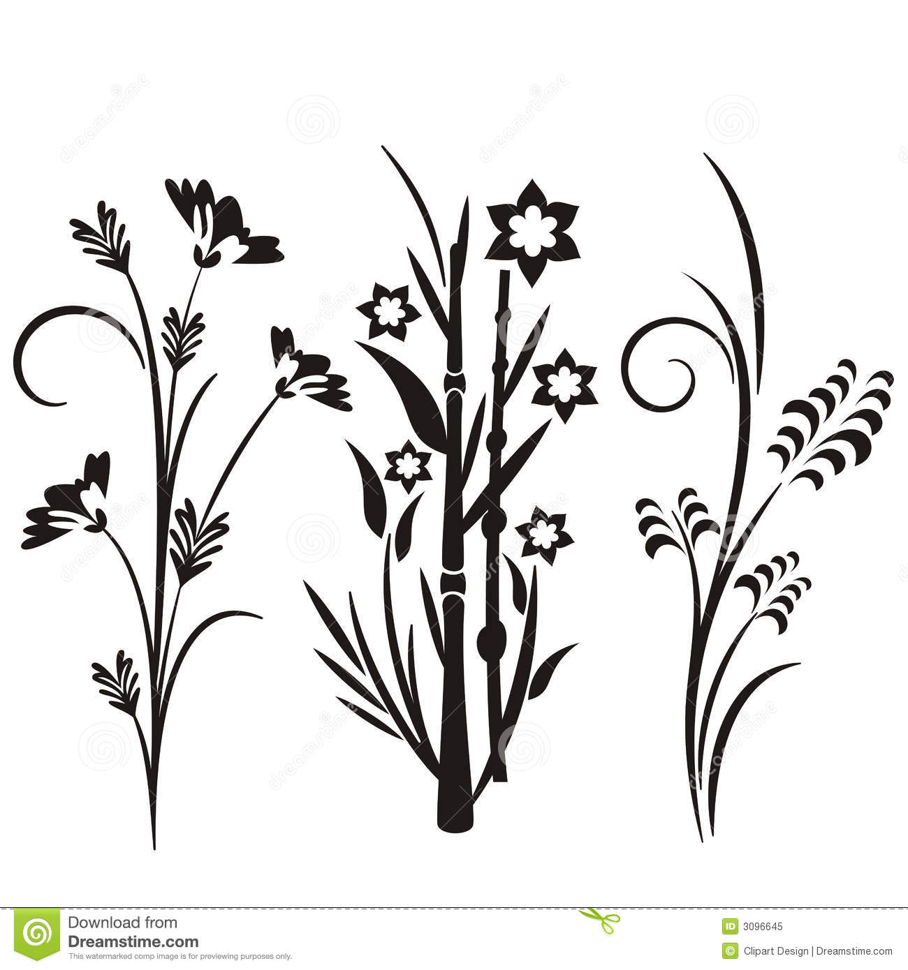 japan floral design  Japanese Floral Design Series Stock Vector - Illustration of ...