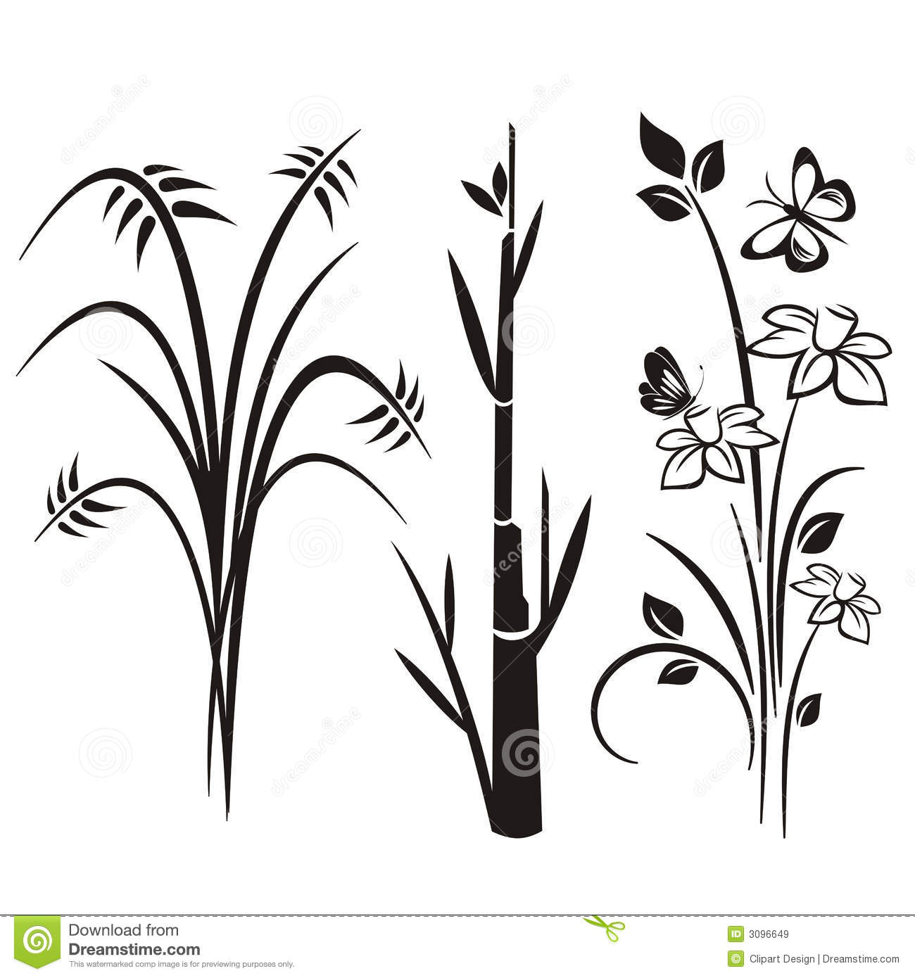 Japanese Designs japanese floral design series stock image - image: 3096651