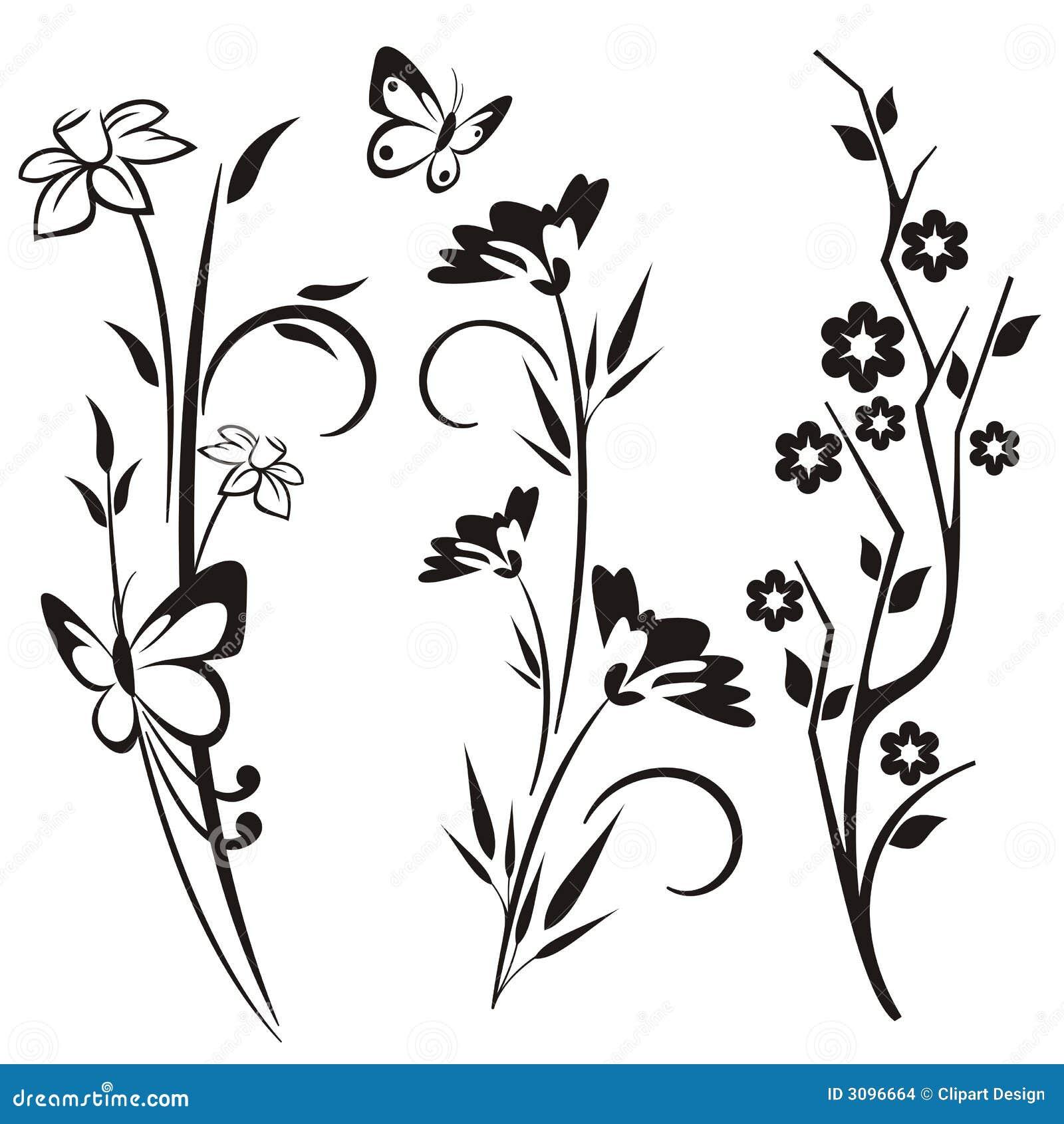 Трафарет цветов для стен своими руками распечатать