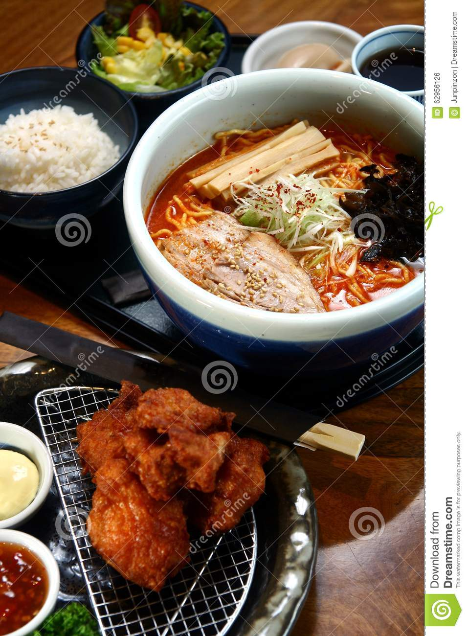 Japanese food meal stock photo image 62956126 for Cuisines completes