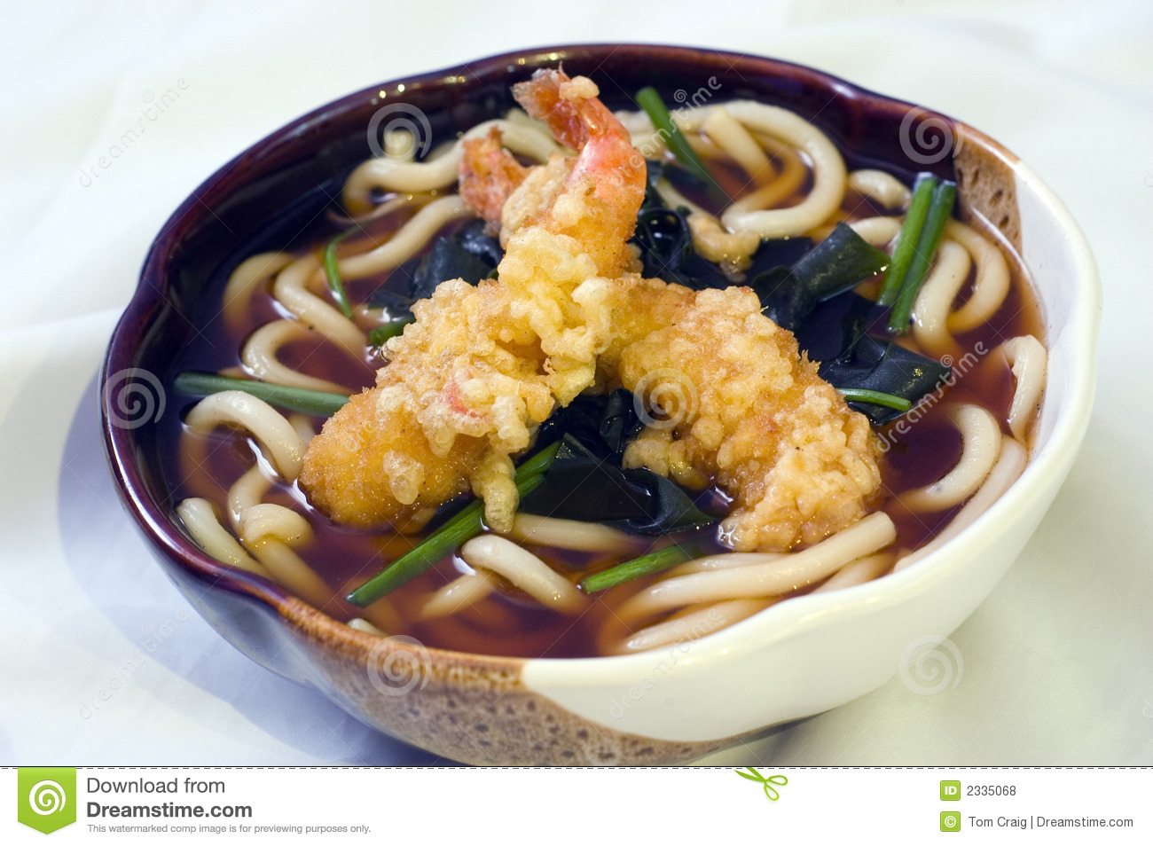 Japanese Food, Noodles Soup Royalty Free Stock Photos - Image: 2335068
