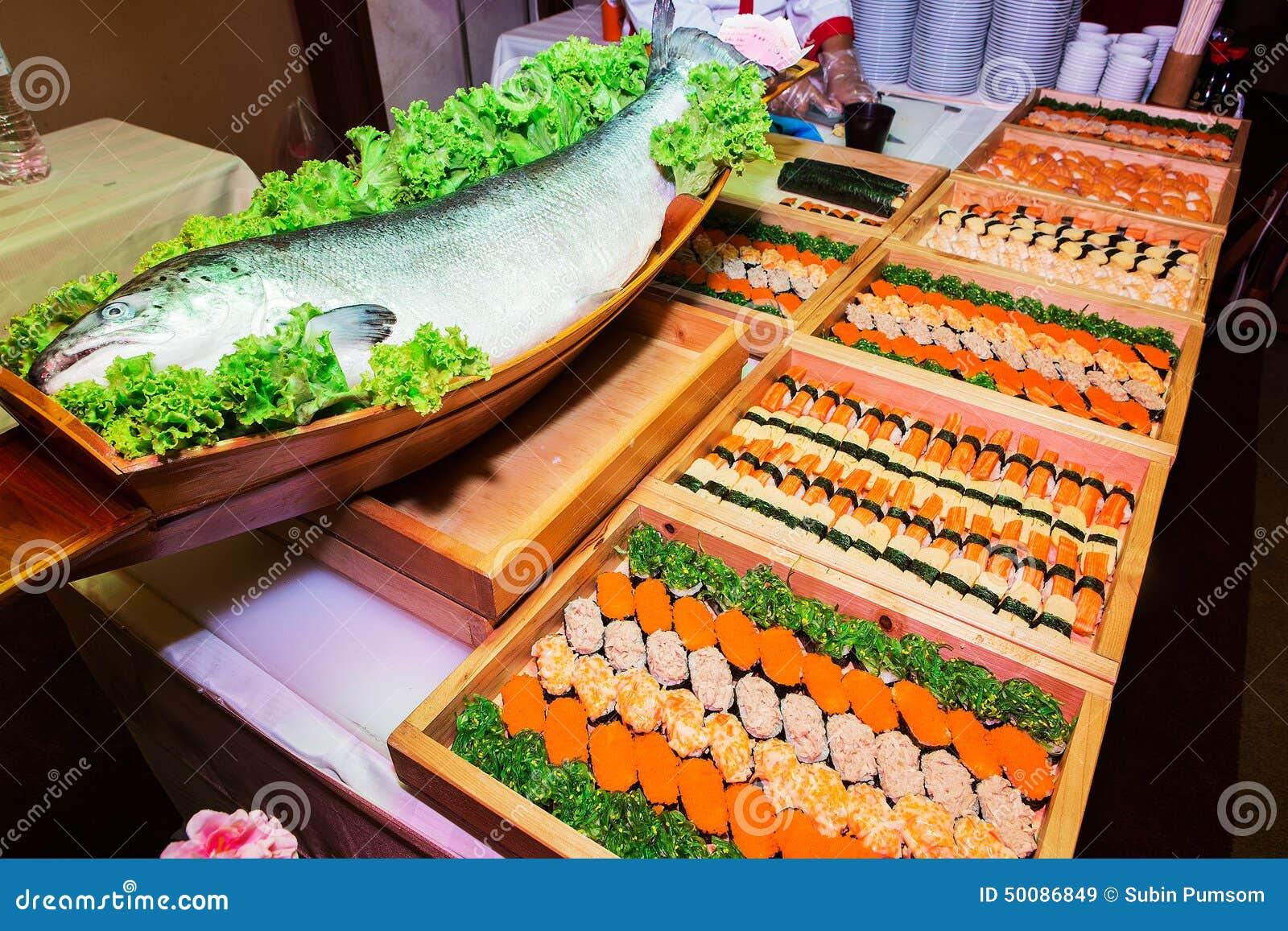 Japanese food palatable