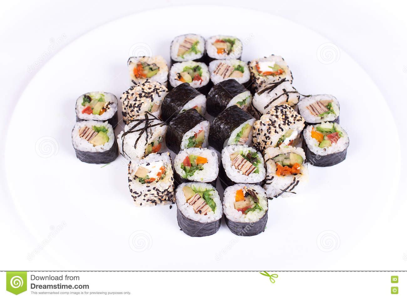 dieta california sushi roll