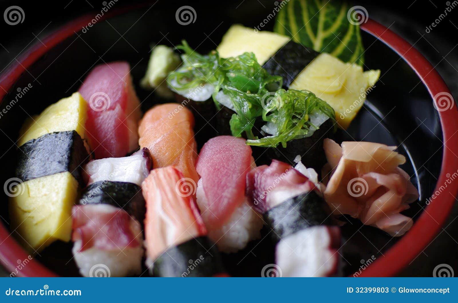 sushi beautiful fish food - photo #10