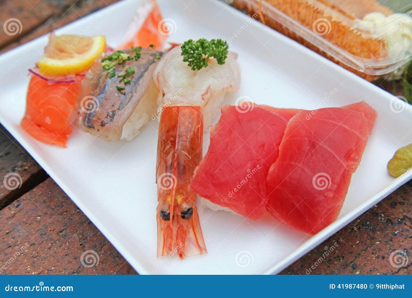 Japanese food, susi, grilled eel on rice