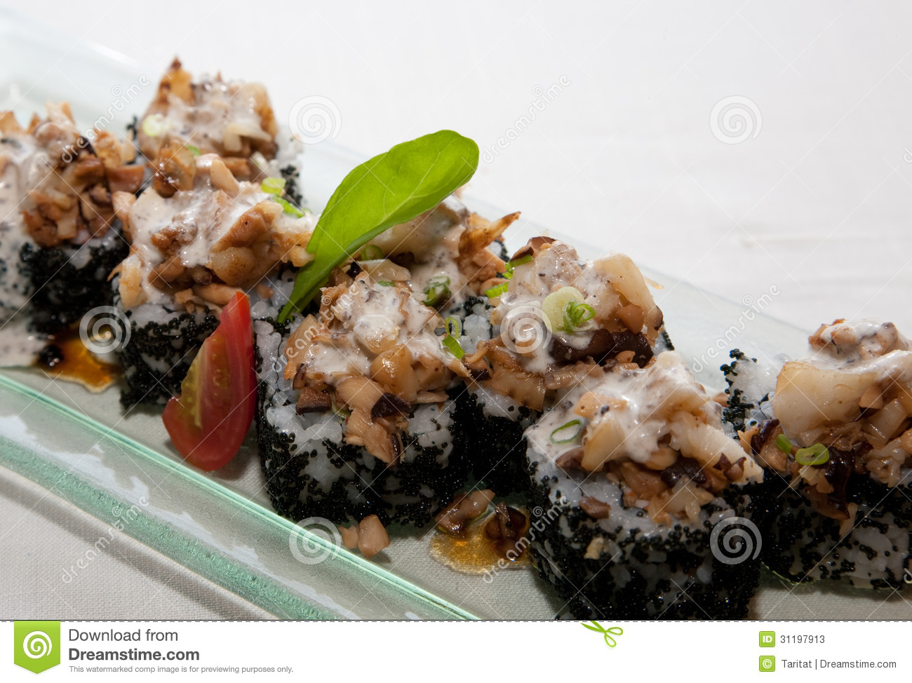 Japanese fusion food stock image image of isolated flake for 50 fifty asian fusion cuisine