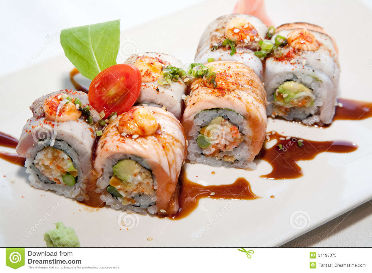 Japanese fusion food stock image image of cuisine lunch for Akane japanese fusion cuisine