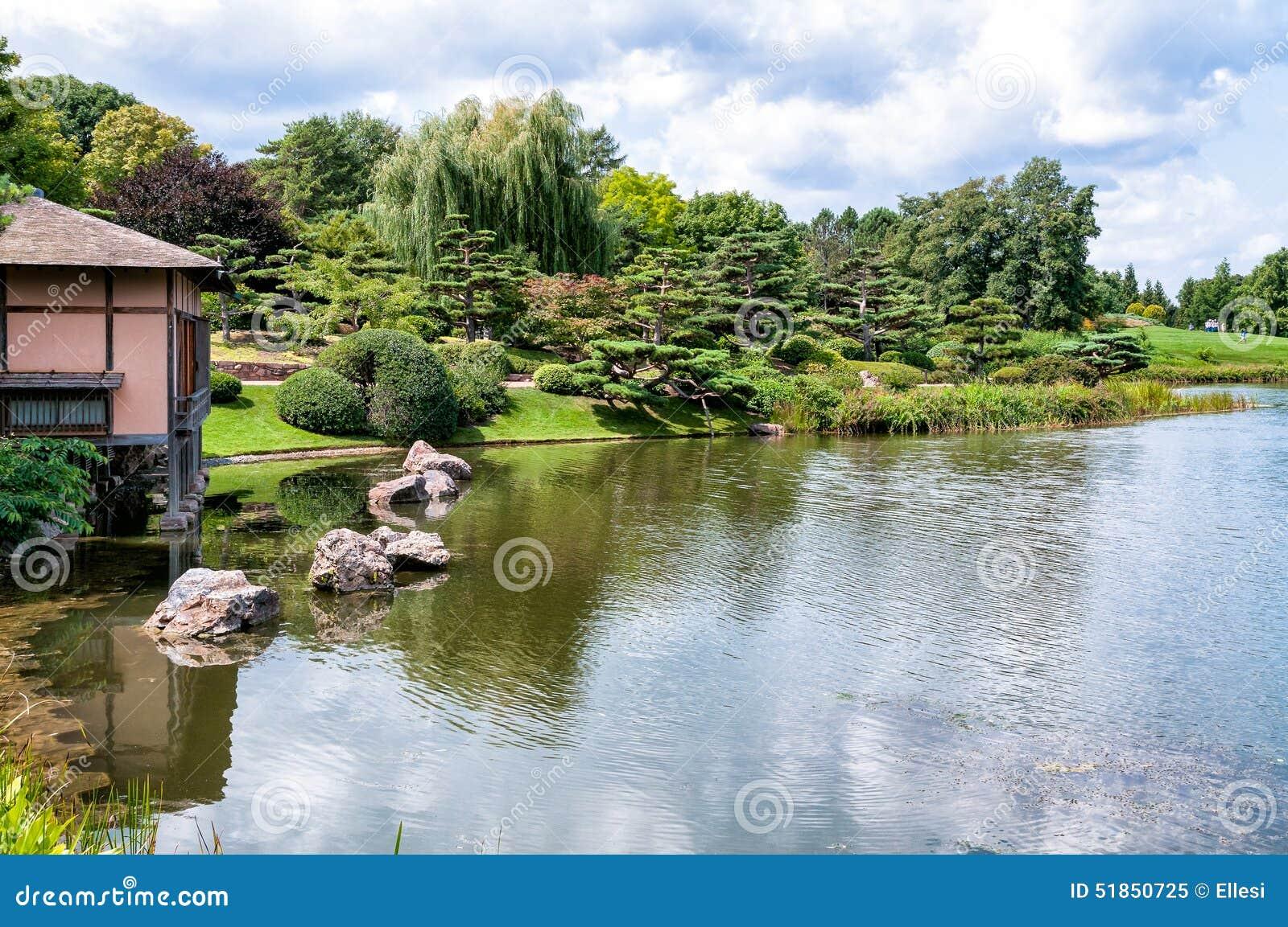 Genial Japanese Garden Area Of Chicago Botanic Garden