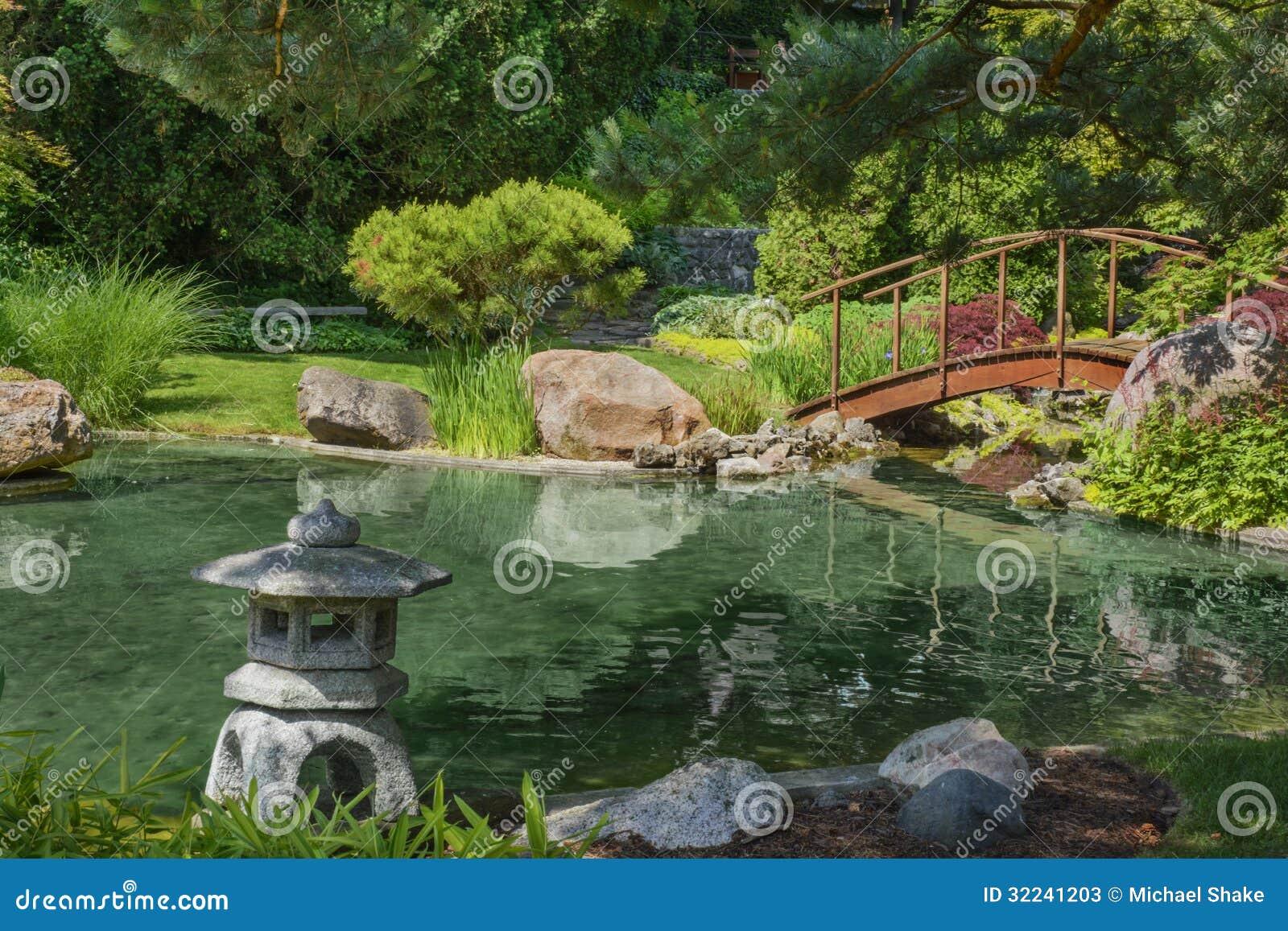 Japanese Garden Stock Photos - Image: 32241203