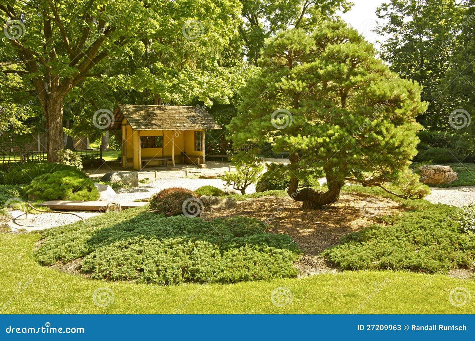 Japanese Garden at Carleton College