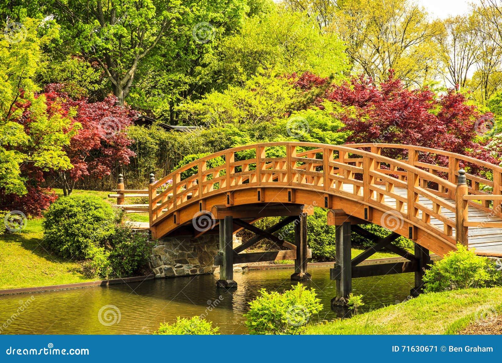 Japanese Garden Footbridge