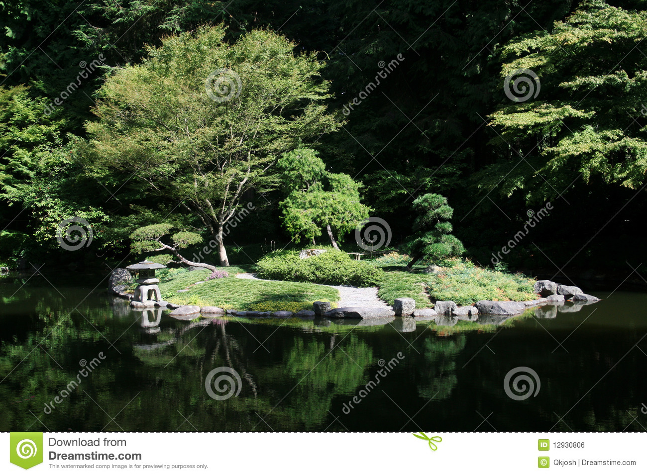 Japanese garden pond royalty free stock image image for Garden pond unlimited