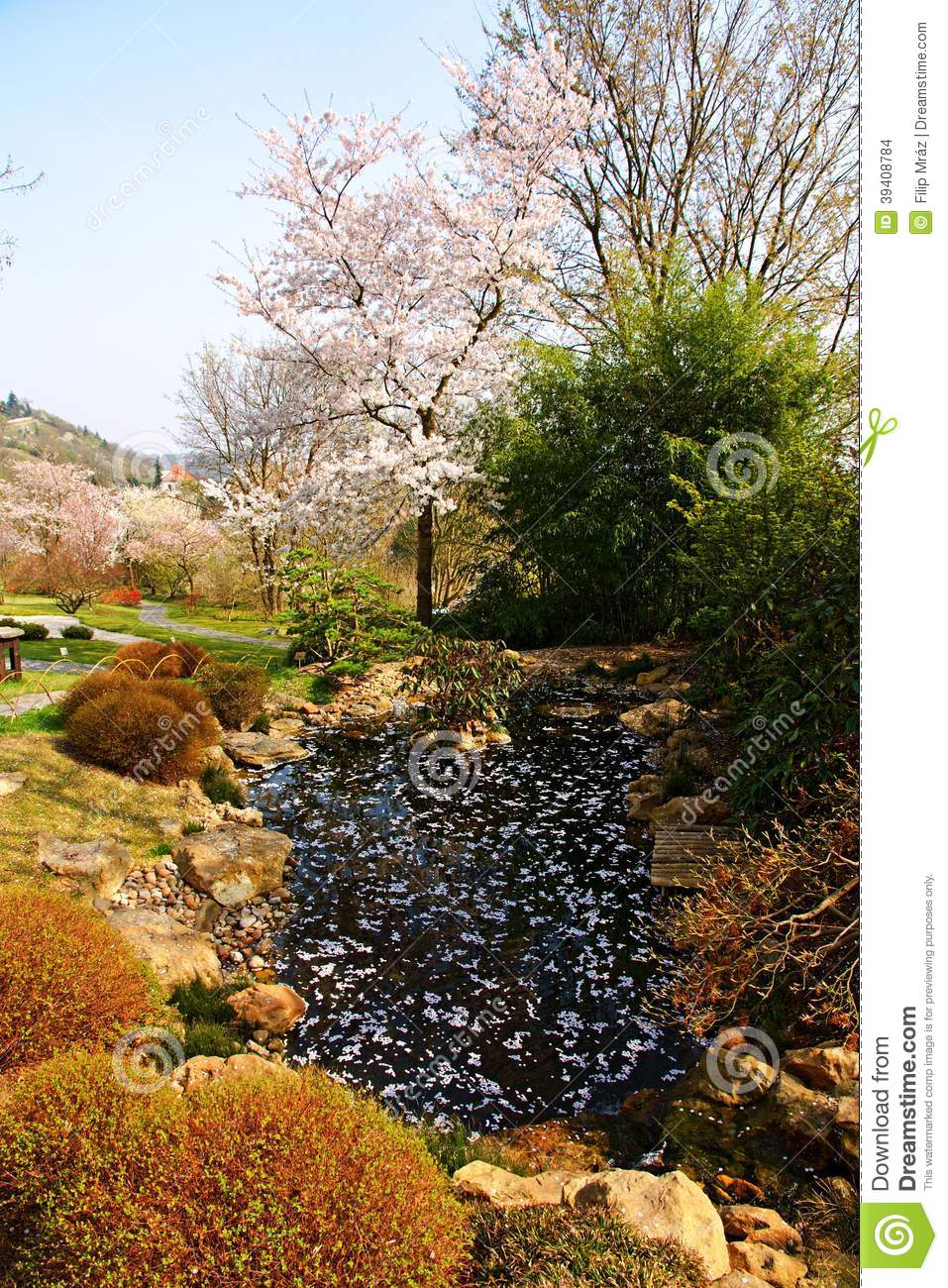 Japanese garden pond stock photo image of historic for Garden pond unlimited
