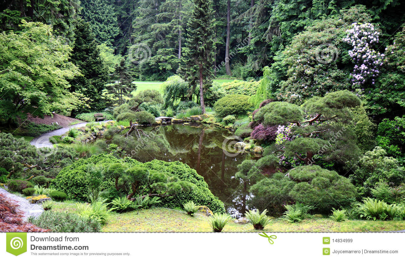 Japanese garden pool royalty free stock images image for Japanese garden pool