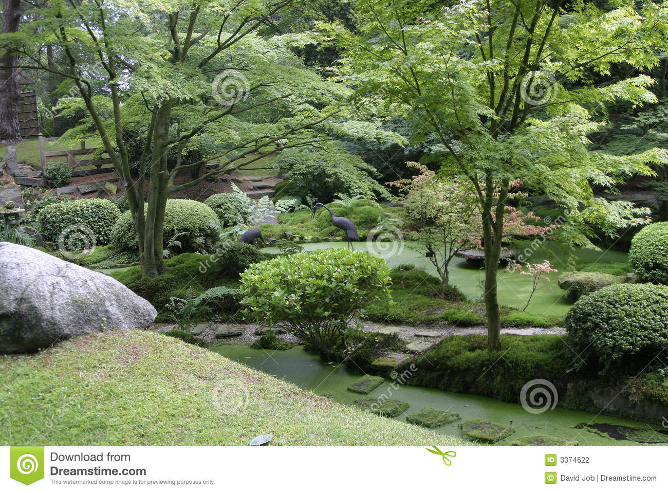 Japanese Garden Tatton Park Stock Photography Image - Japanese gardens in england