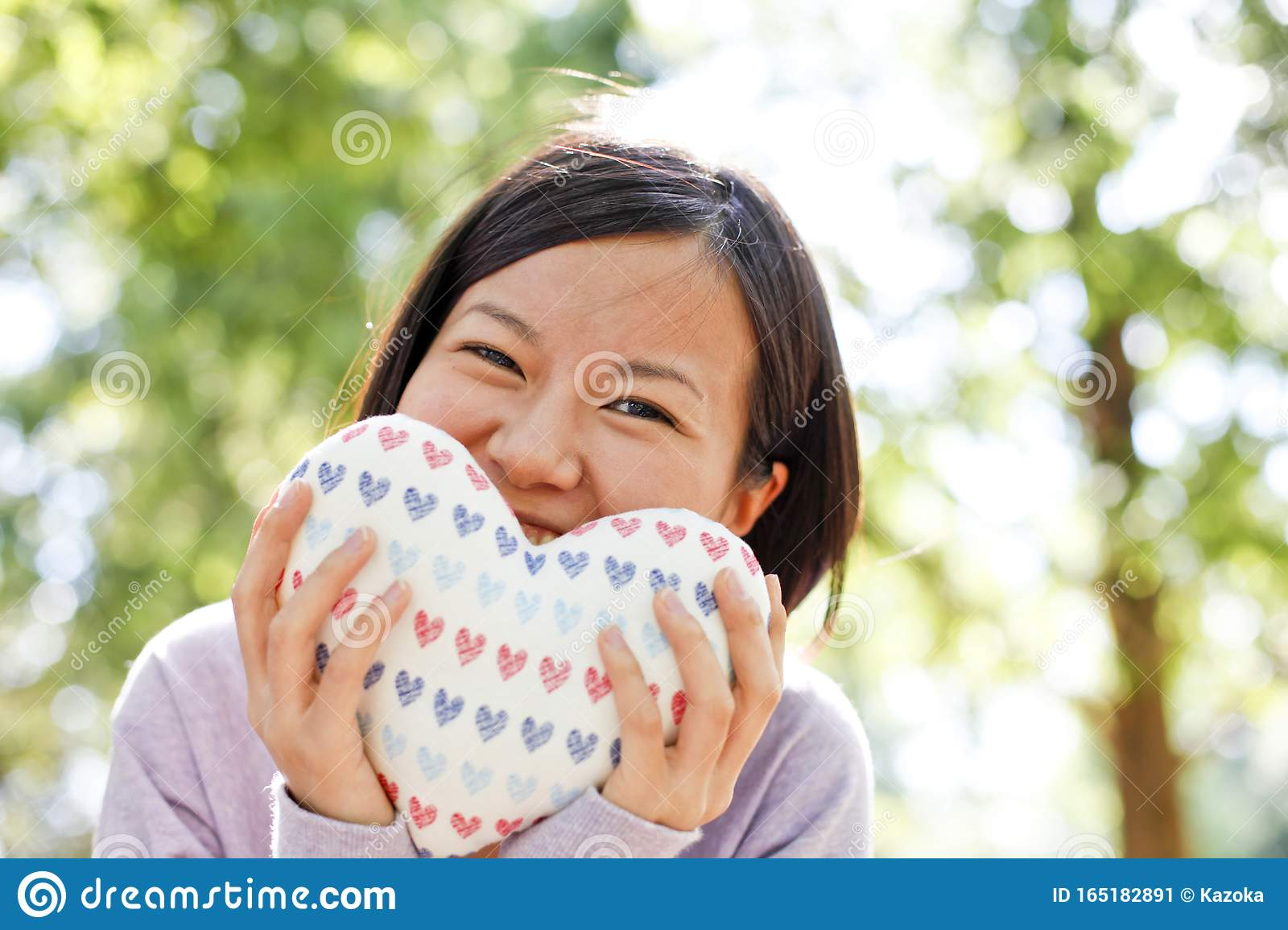 Japanese Girl`s First Love Image Stock Image - Image of