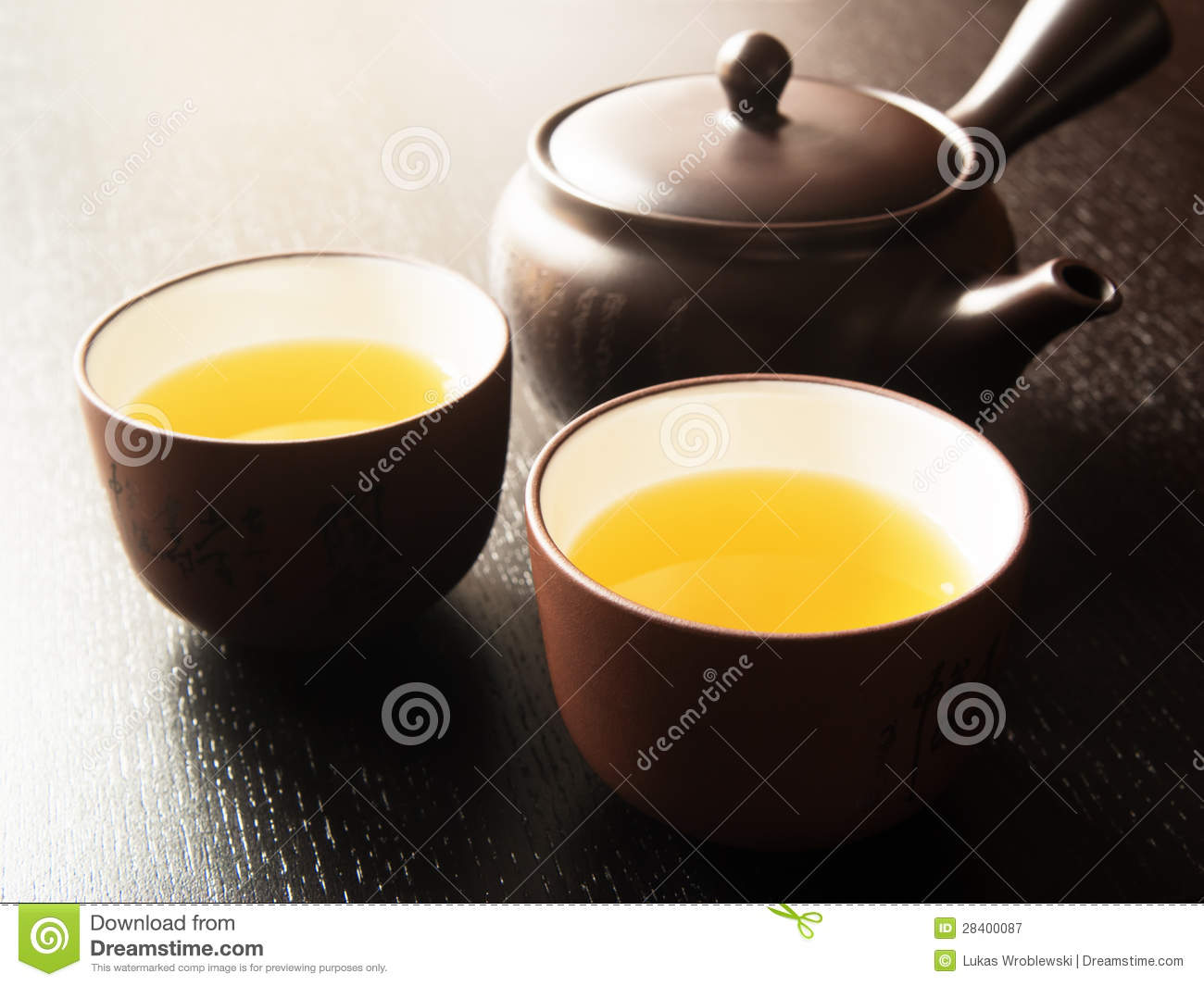 how to drink japanese green tea