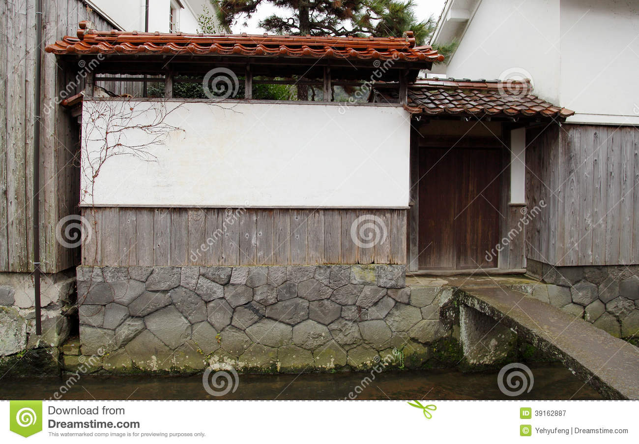 Japanese house wall with door beside stream stock image image of roof japanese 39162887 - Household water treatment a traditional approach ...