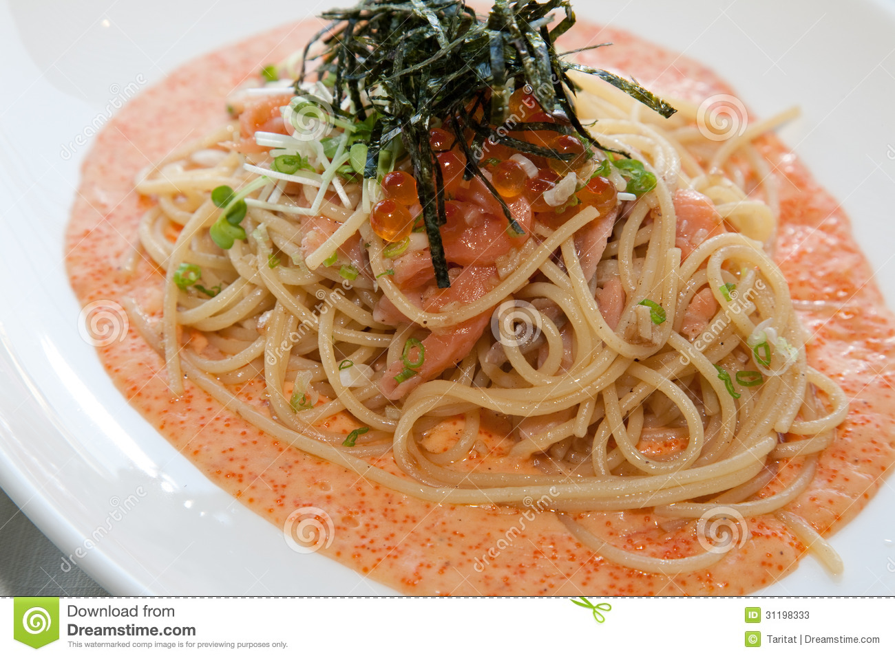 japanese italian fusion food stock photos image 31198333